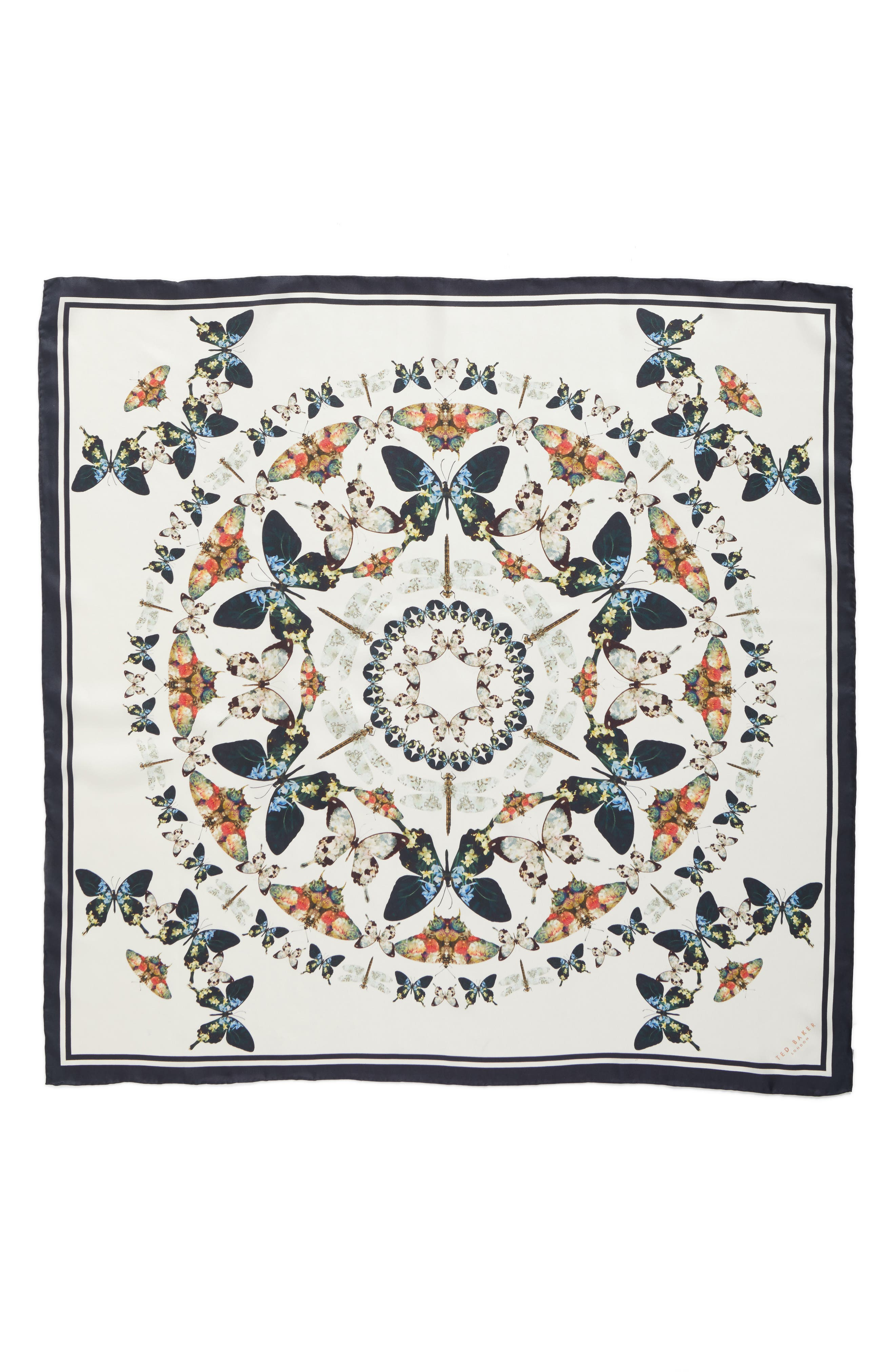 Alternate Image 2  - Ted Baker London Butterfly Kaleidoscope Square Silk Scarf