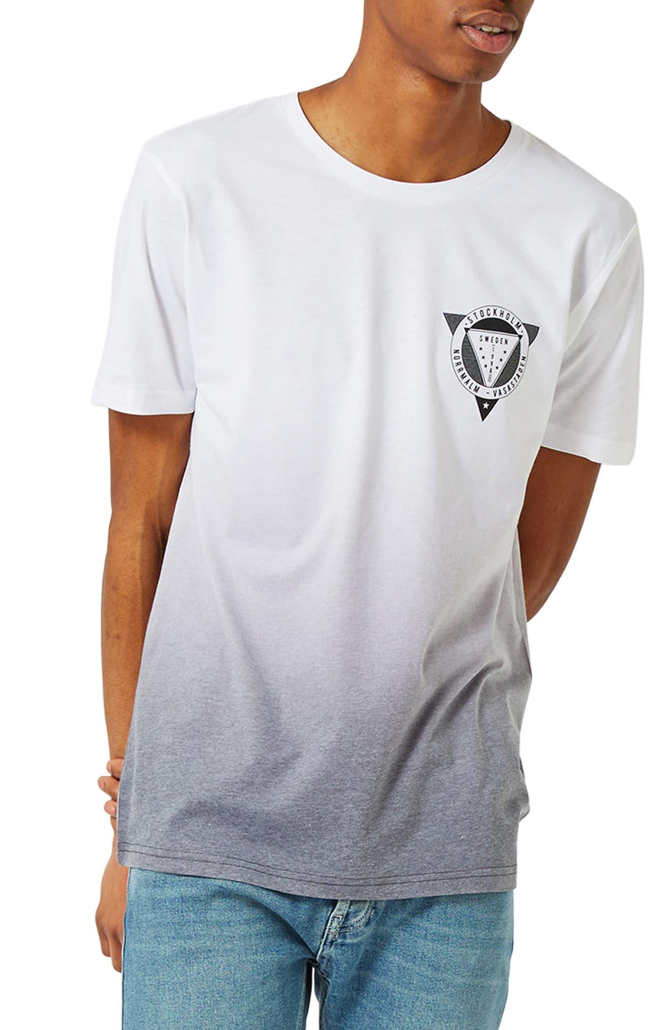 1998 Sweden Slim Fit Graphic T-Shirt,                         Main,                         color, White Multi