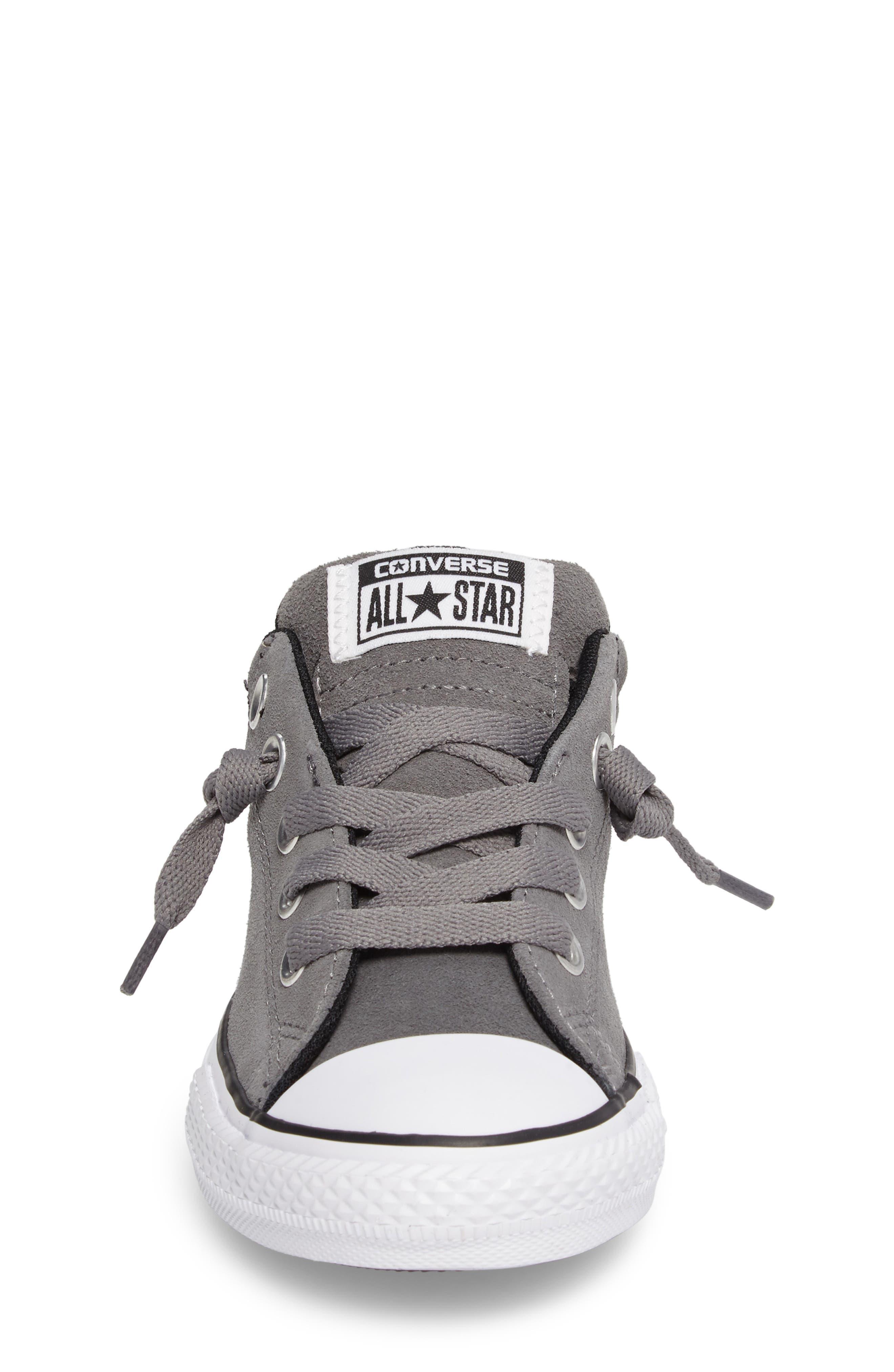 Chuck Taylor<sup>®</sup> All Star<sup>®</sup> Street Sneaker,                             Alternate thumbnail 4, color,                             Mason/ Black/ White