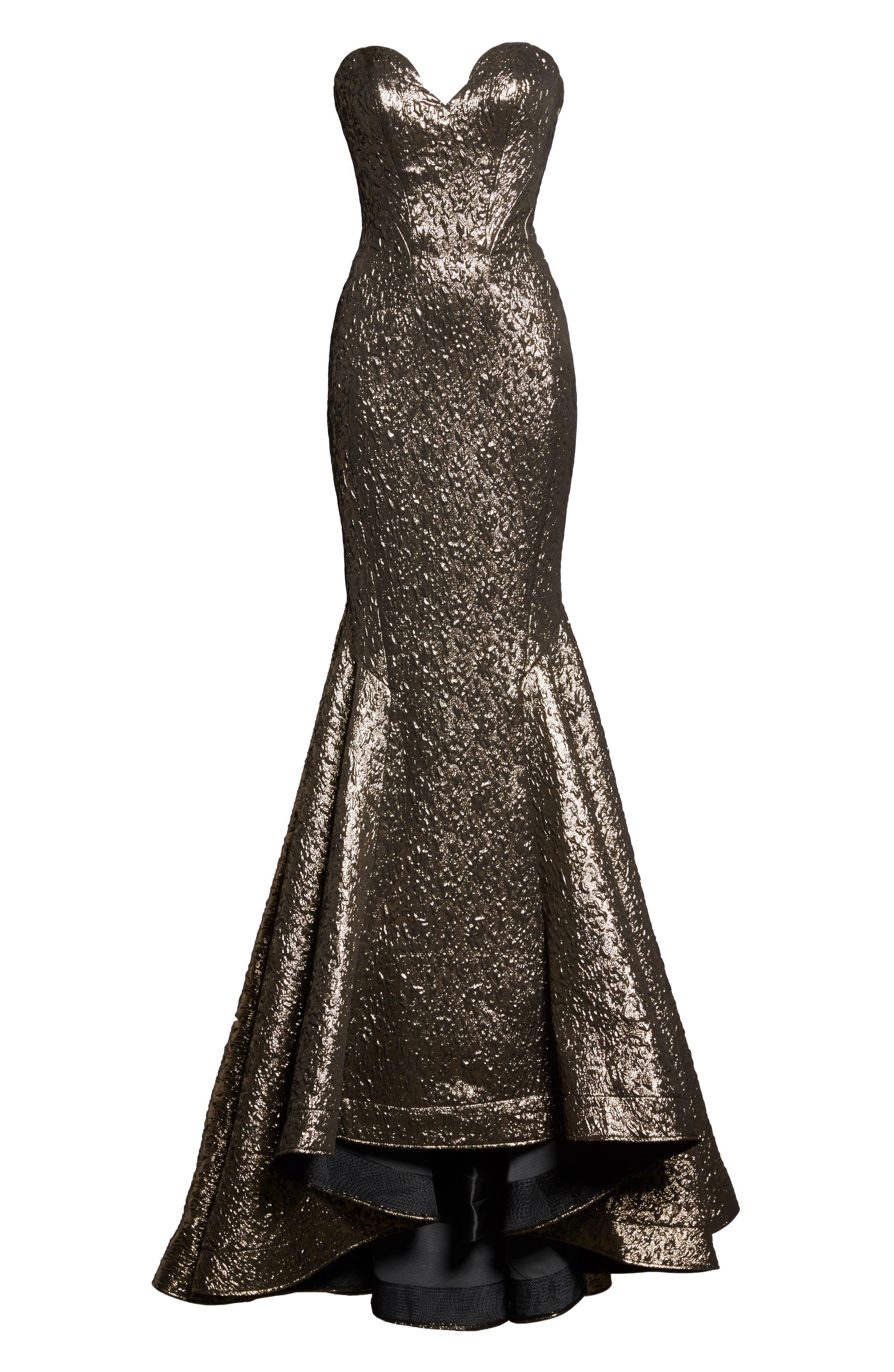 Alternate Image 6  - Mac Duggal Lamé Mermaid Gown