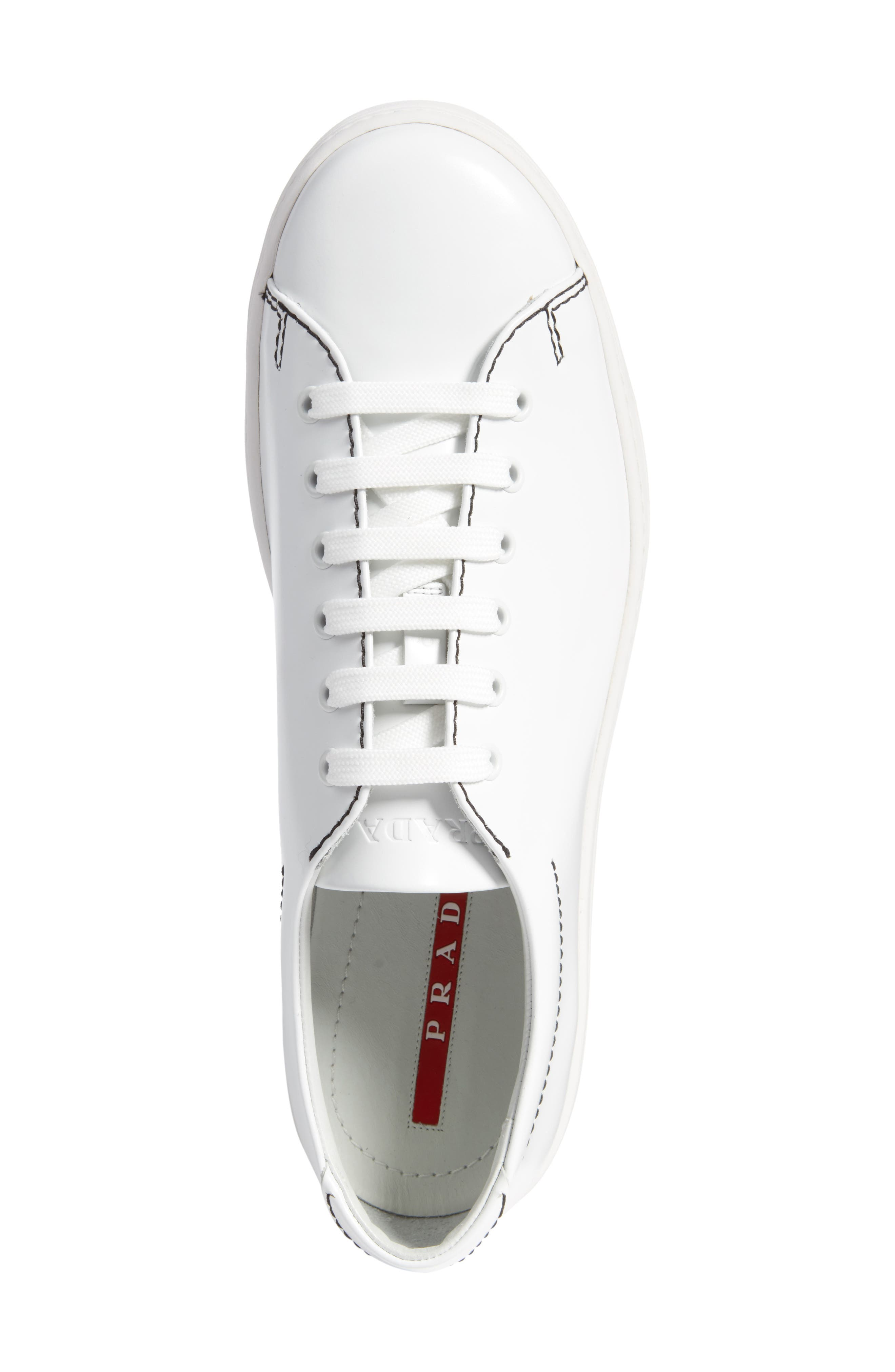 Alternate Image 5  - Prada Linea Rossa Low Top Sneaker (Men)