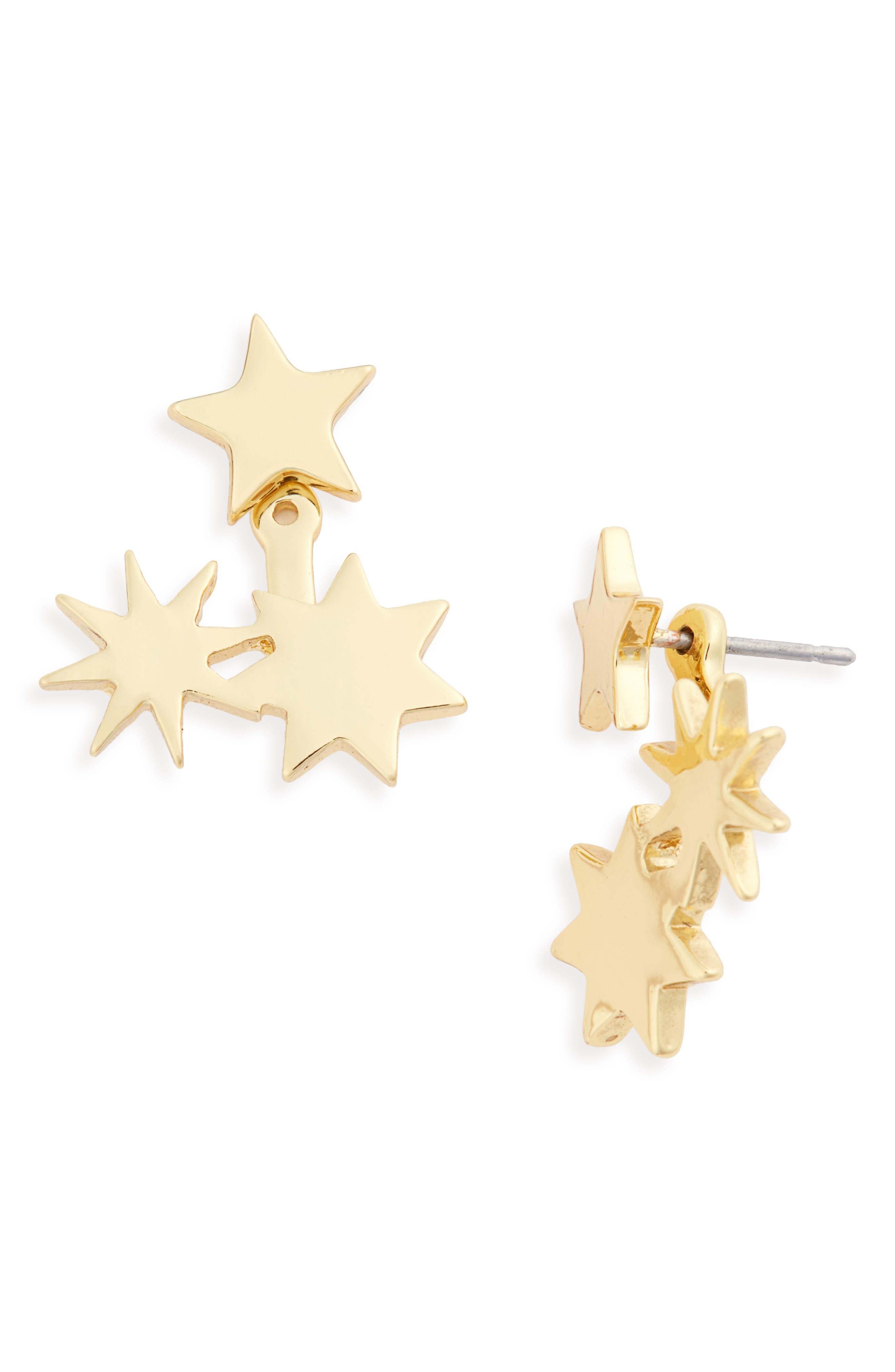 Main Image - BaubleBar Starry Ear Jackets