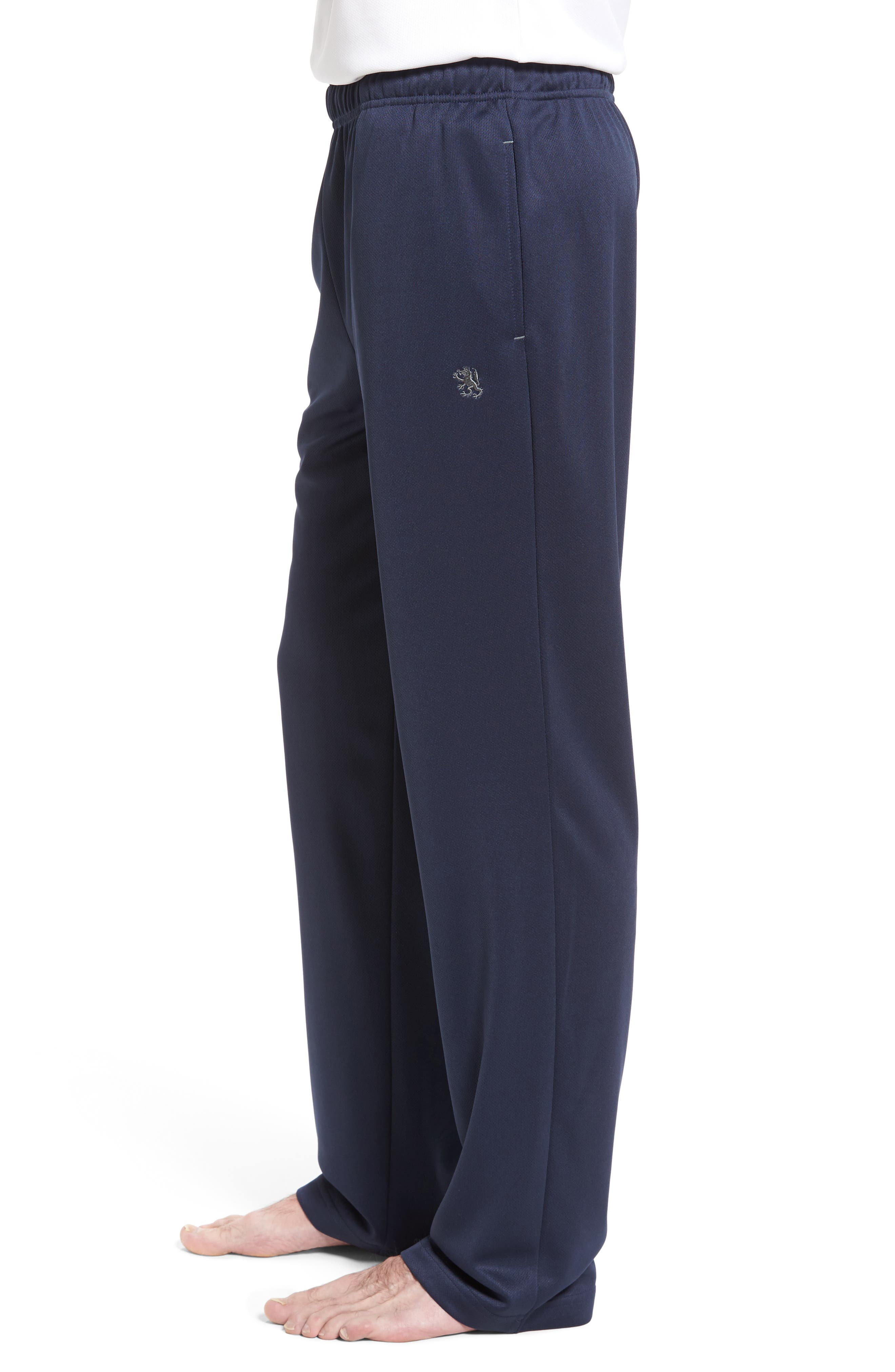 Work Out Lounge Pants,                             Alternate thumbnail 3, color,                             Navy