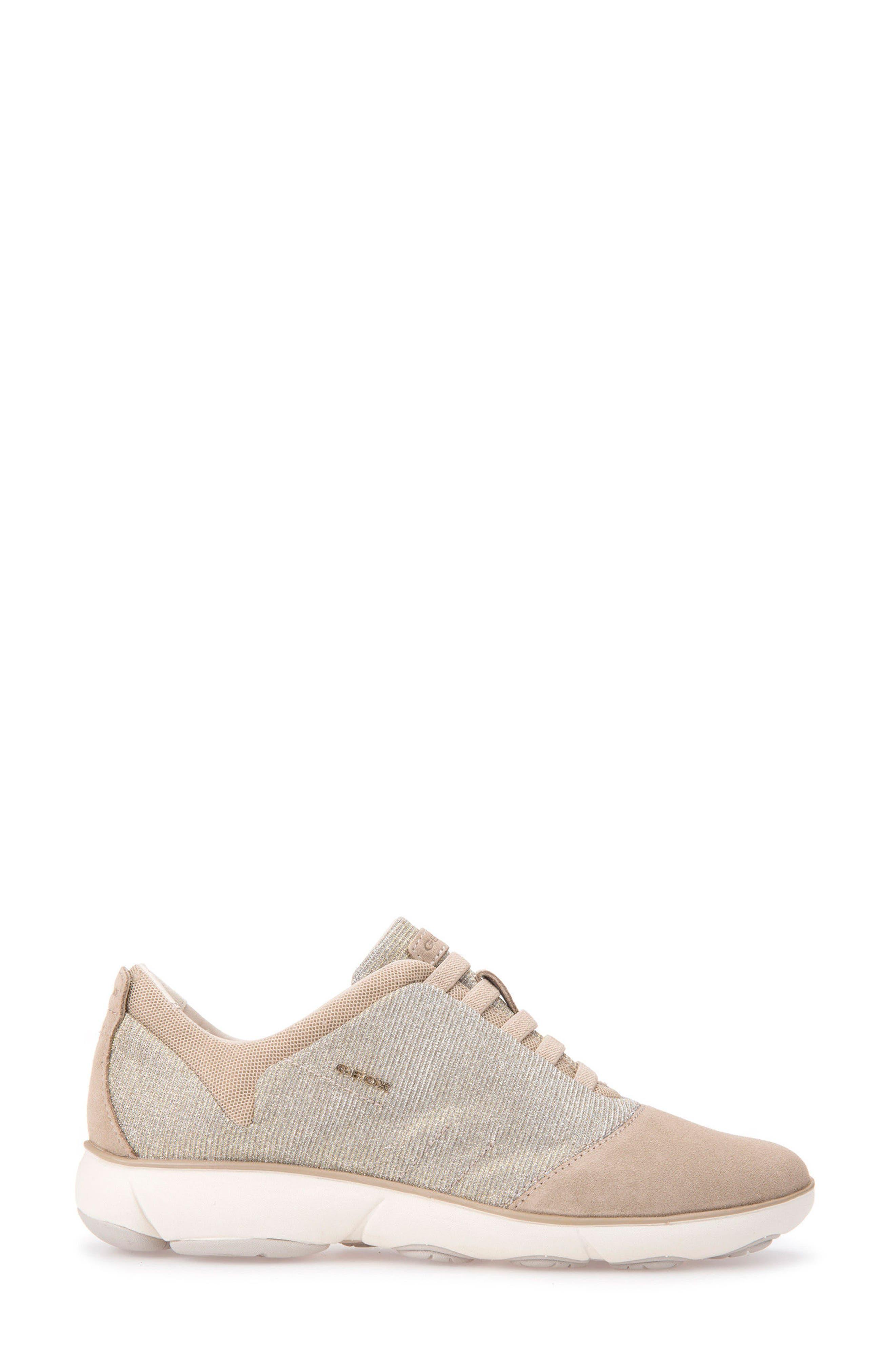 Nebula Slip-On Sneaker,                             Alternate thumbnail 3, color,                             Taupe Fabric