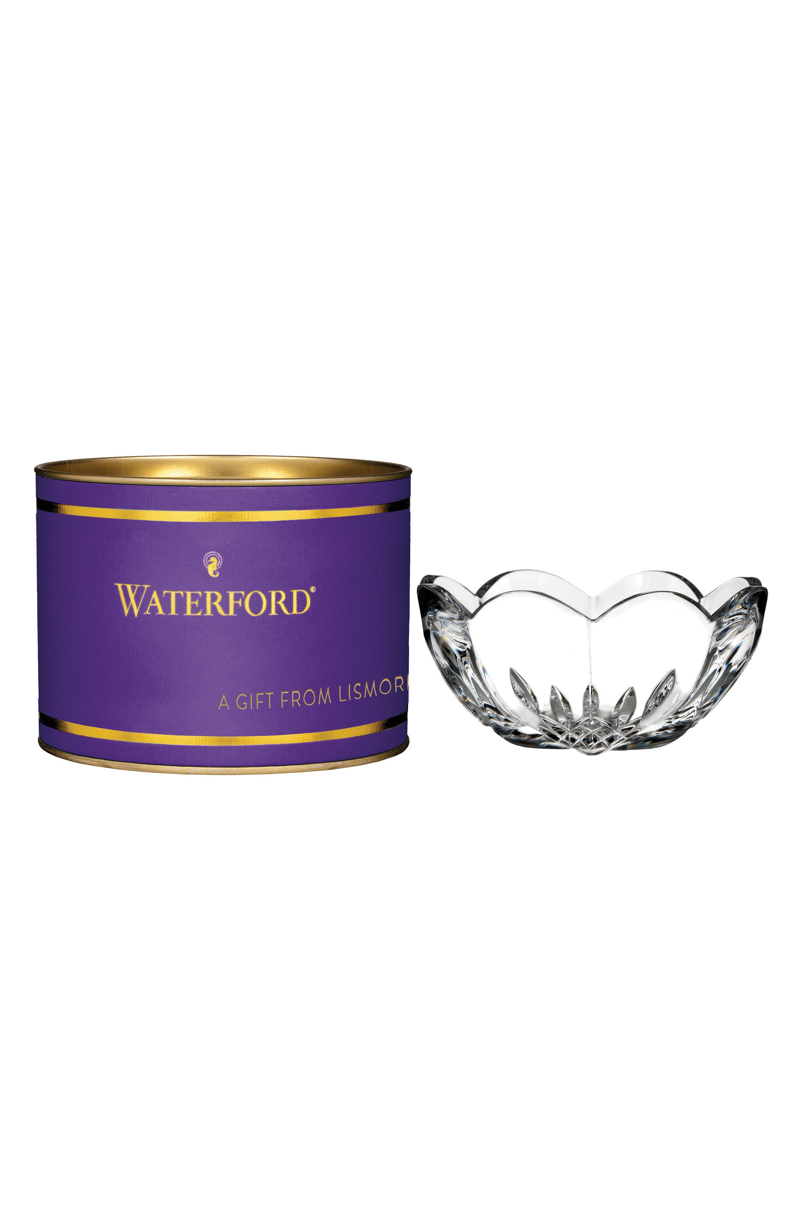 Main Image - Waterford Giftology Lismore Heart Lead Crystal Bowl