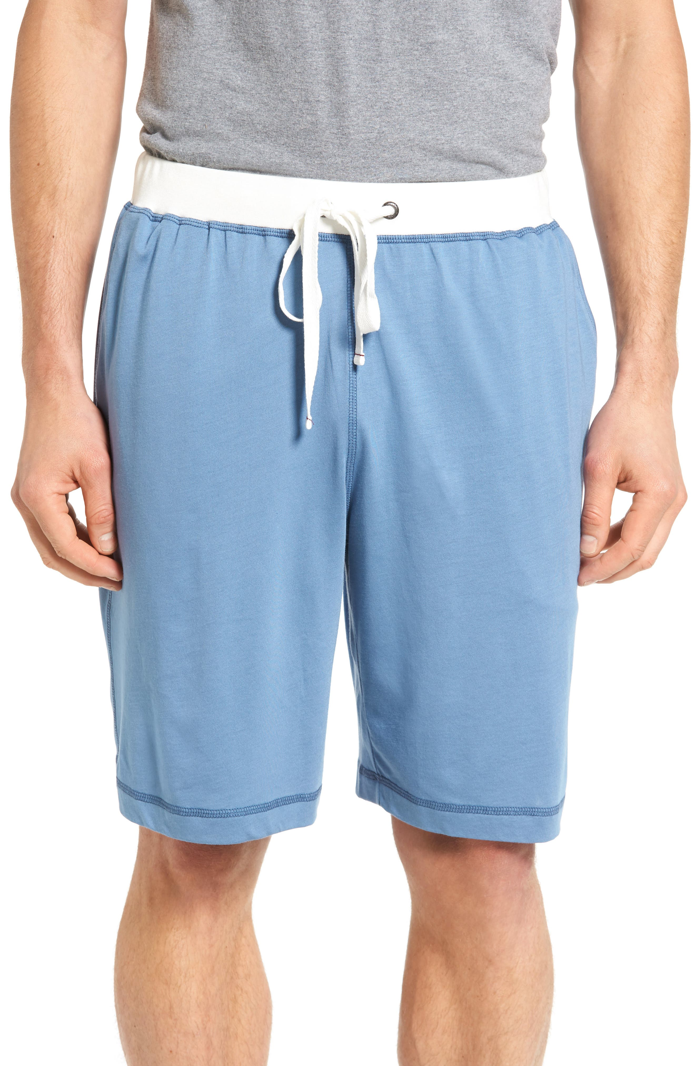 Daniel Buchler Pima Cotton & Modal Lounge Shorts
