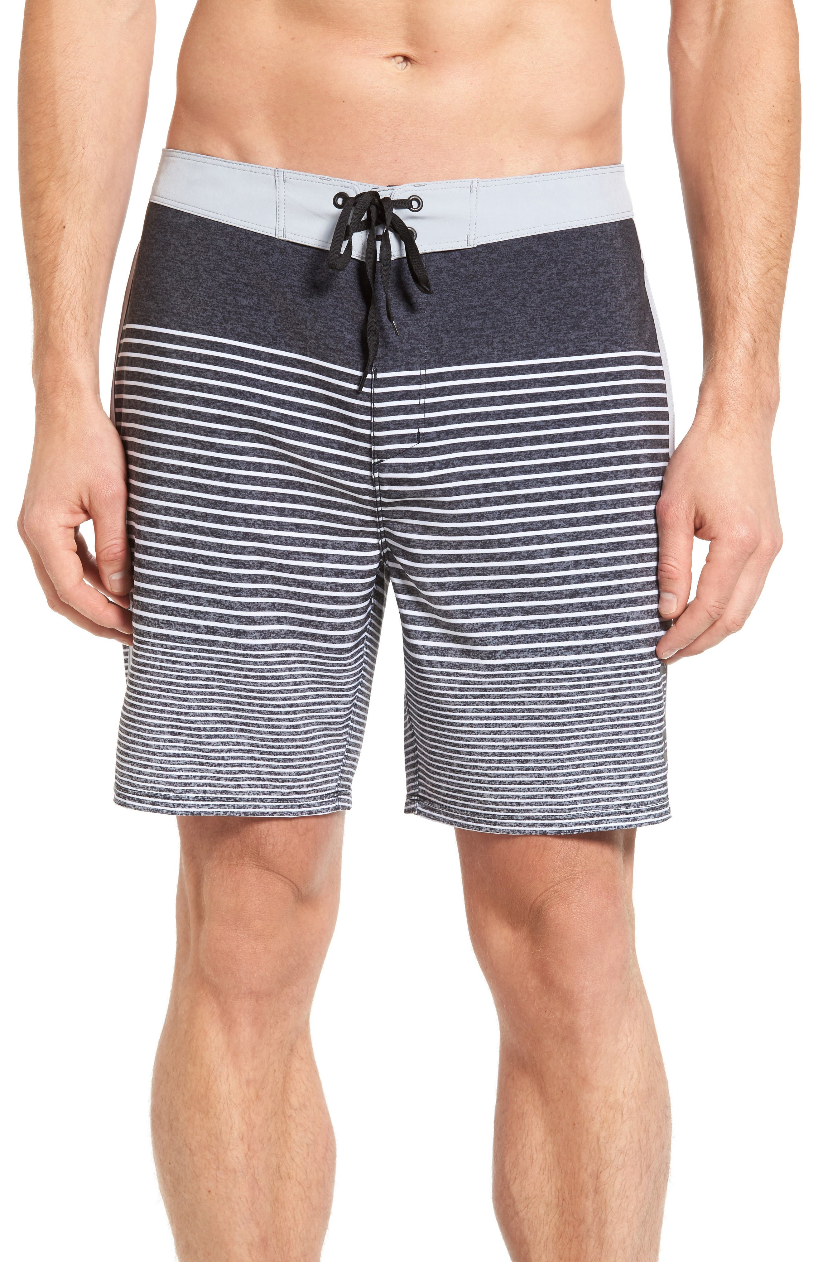 Main Image - Hurley Phantom Recycled Swim Trunks