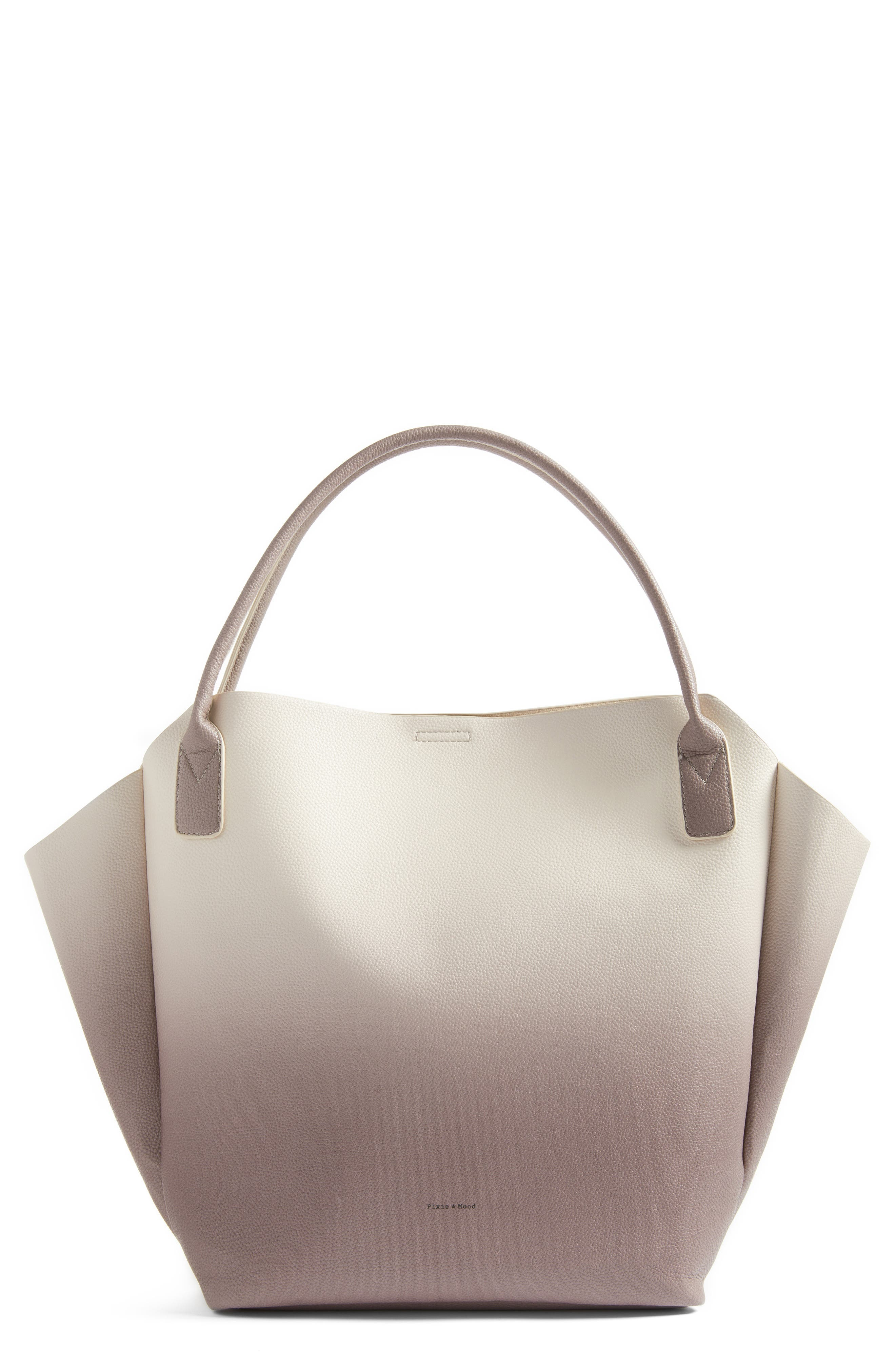 PIXIE MOOD Rachel Ombré Faux Leather Tote