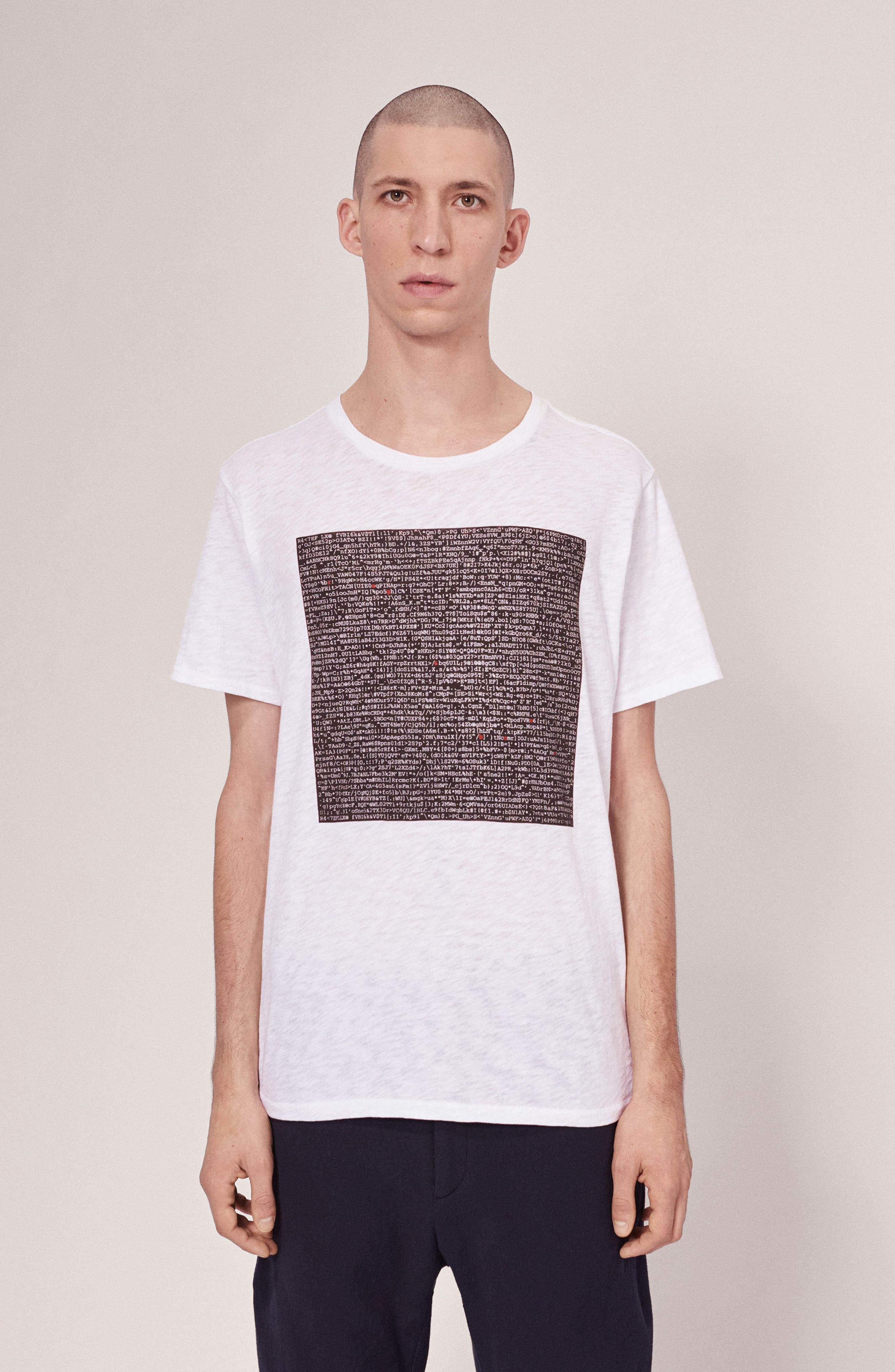 Alternate Image 6  - rag & bone Graphic Code T-Shirt