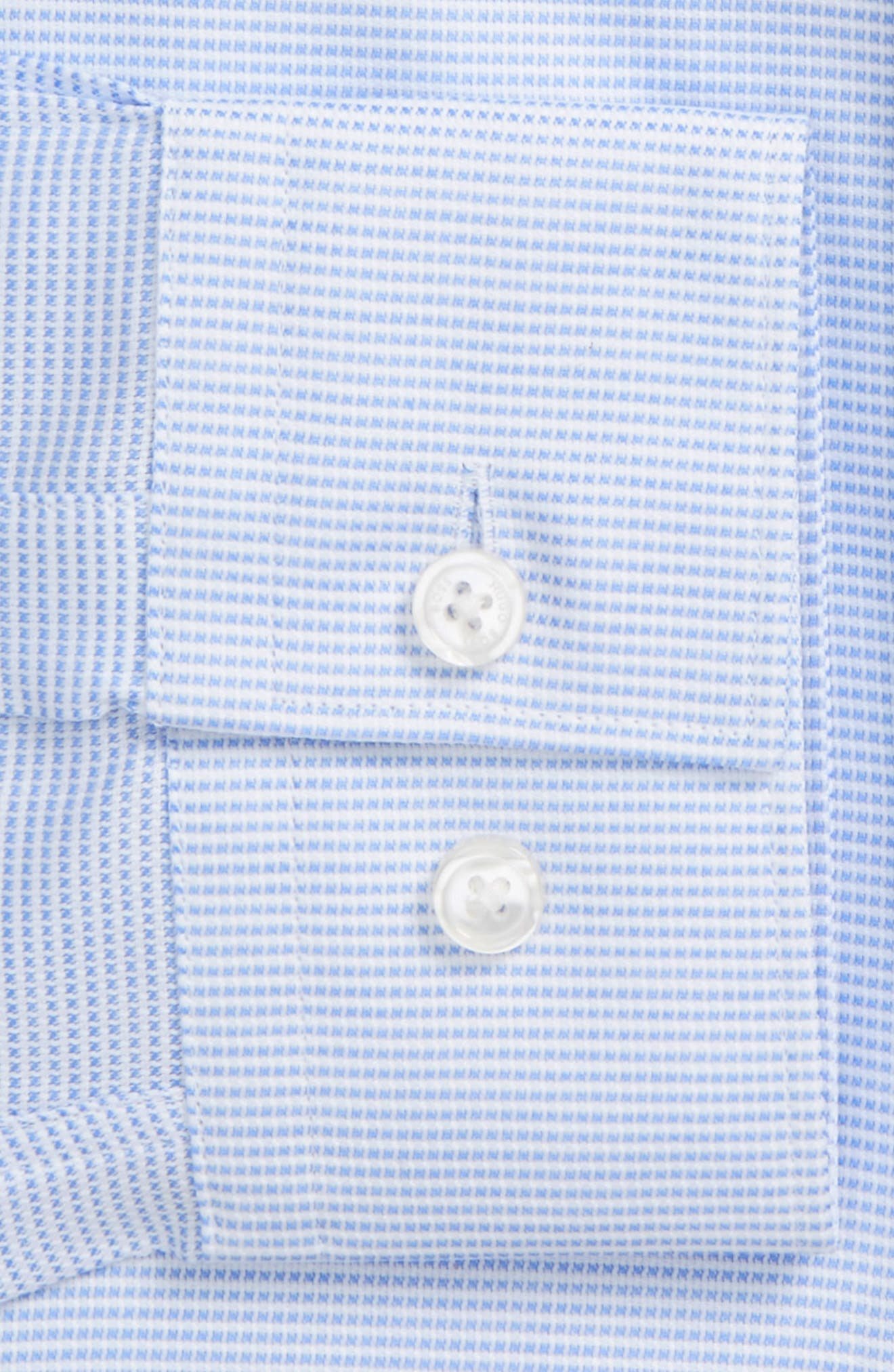 Alternate Image 2  - BOSS Issak Slim Fit Check Dress Shirt