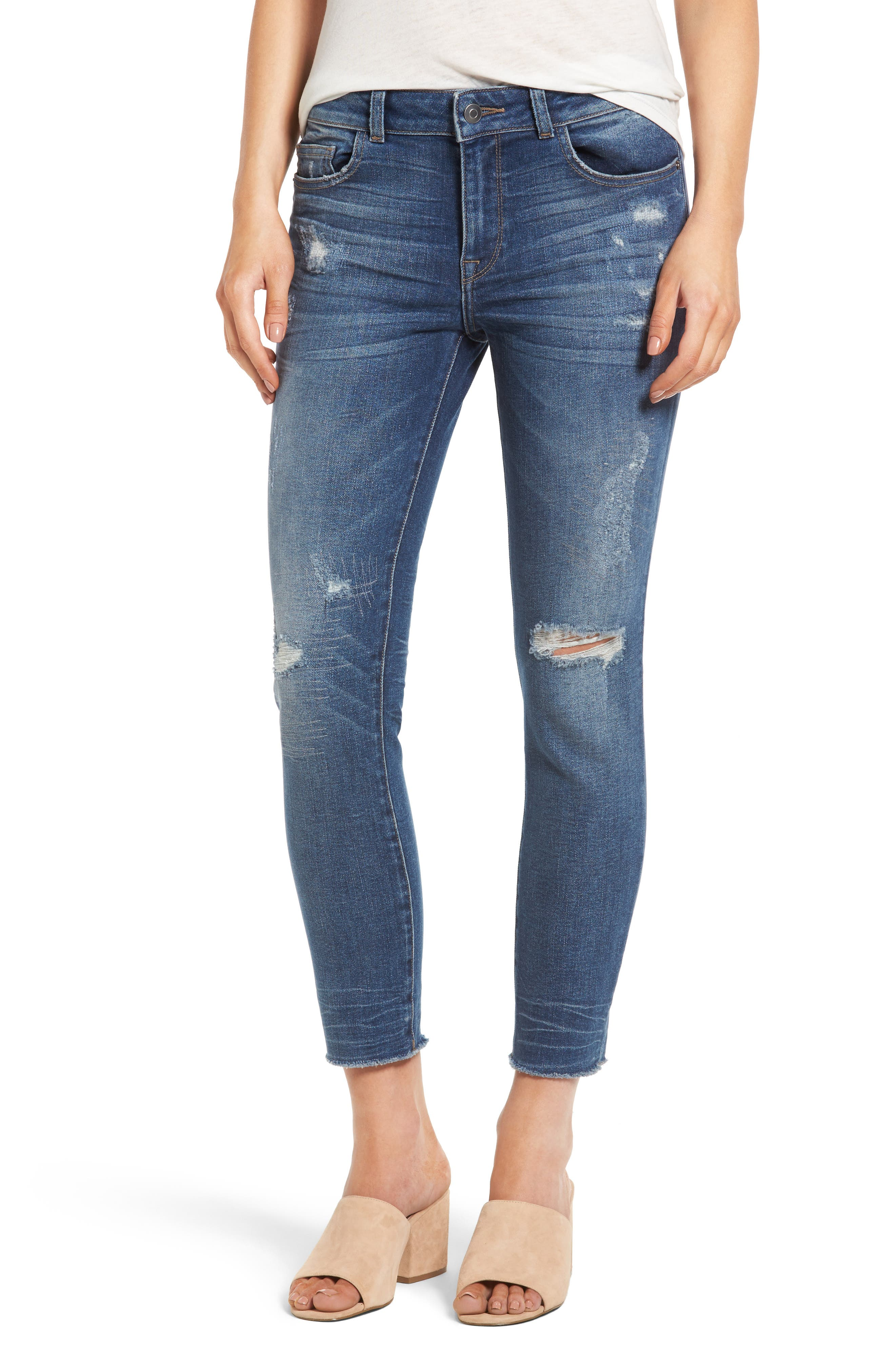 DL1961 Florence Crop Skinny Jeans (Uptown)
