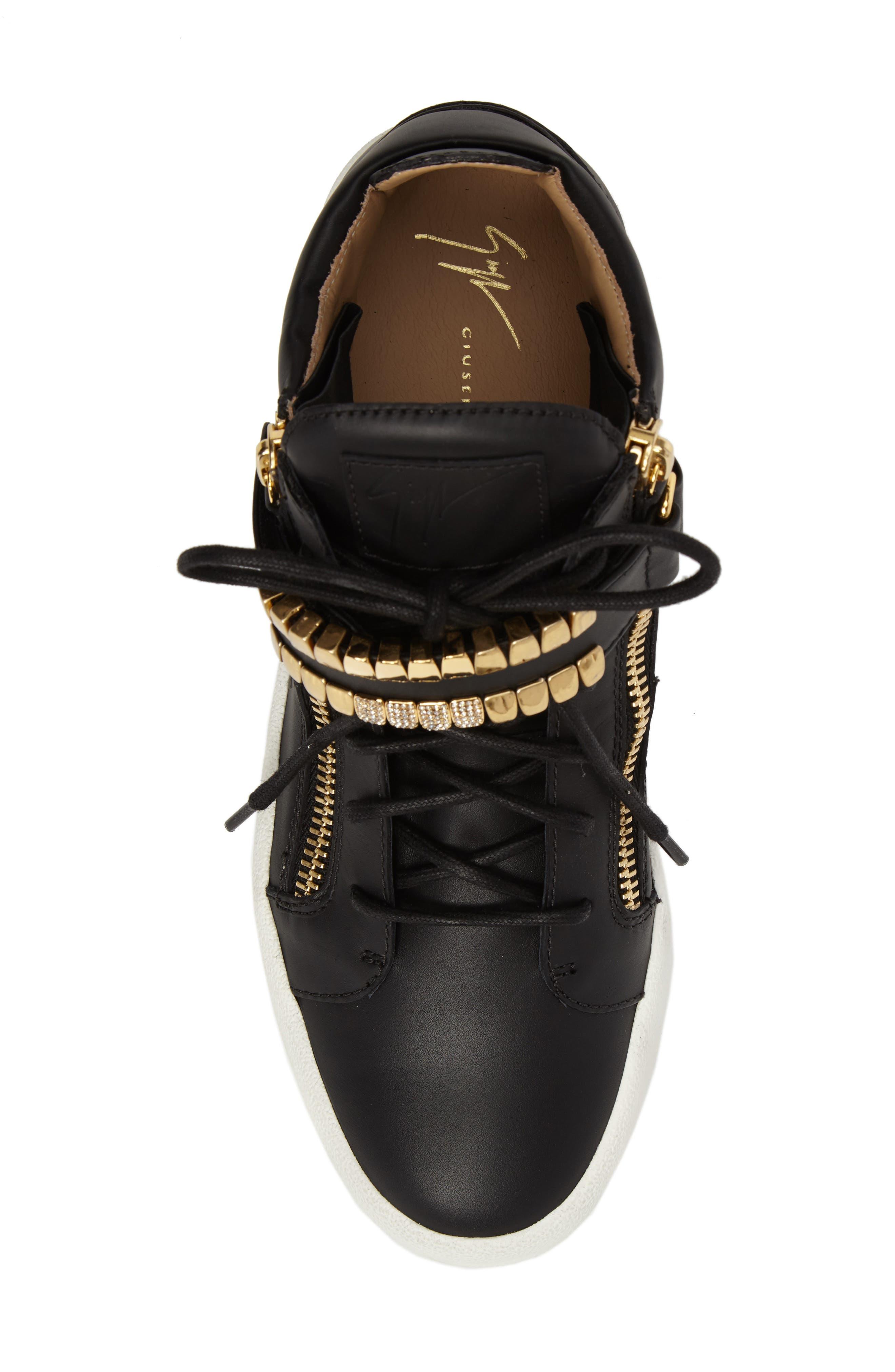 Alternate Image 5  - Giuseppe Zanotti Mid Top Sneaker (Men)