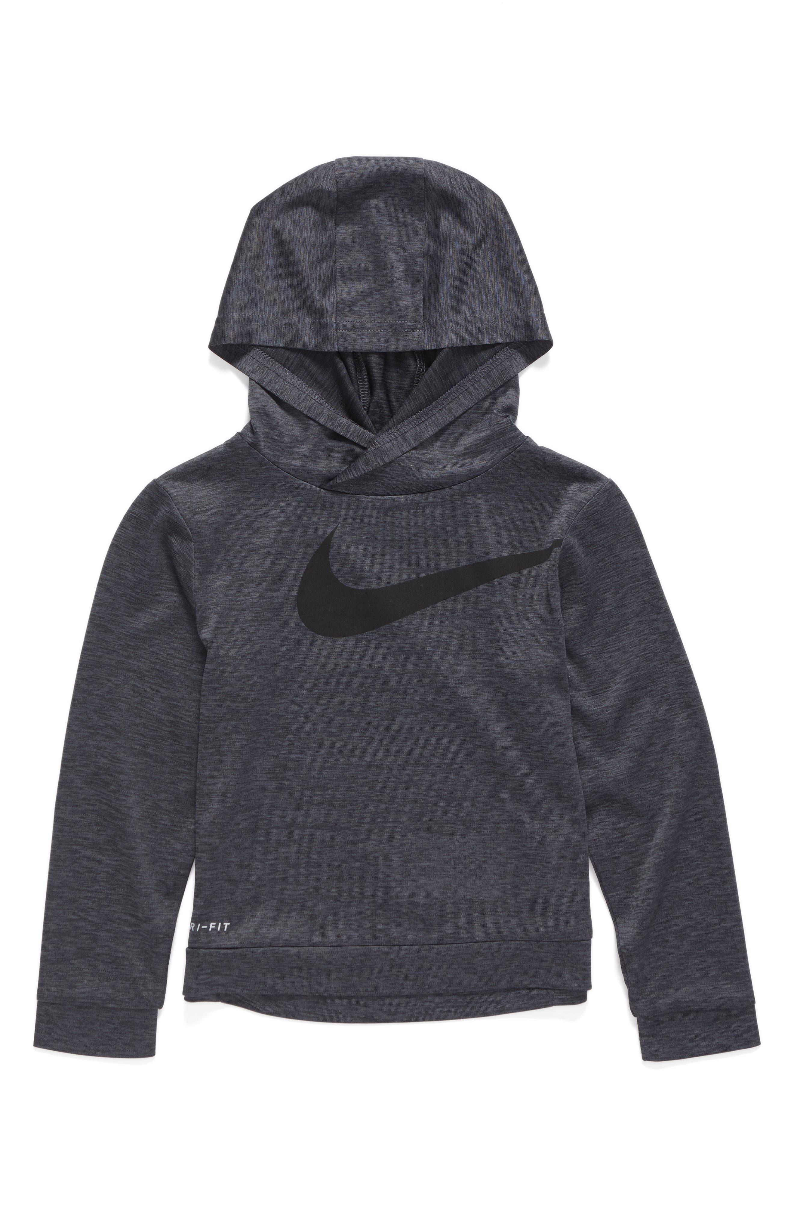 Nike Swoosh Dri-FIT Hoodie (Toddler Boys & Little Boys)