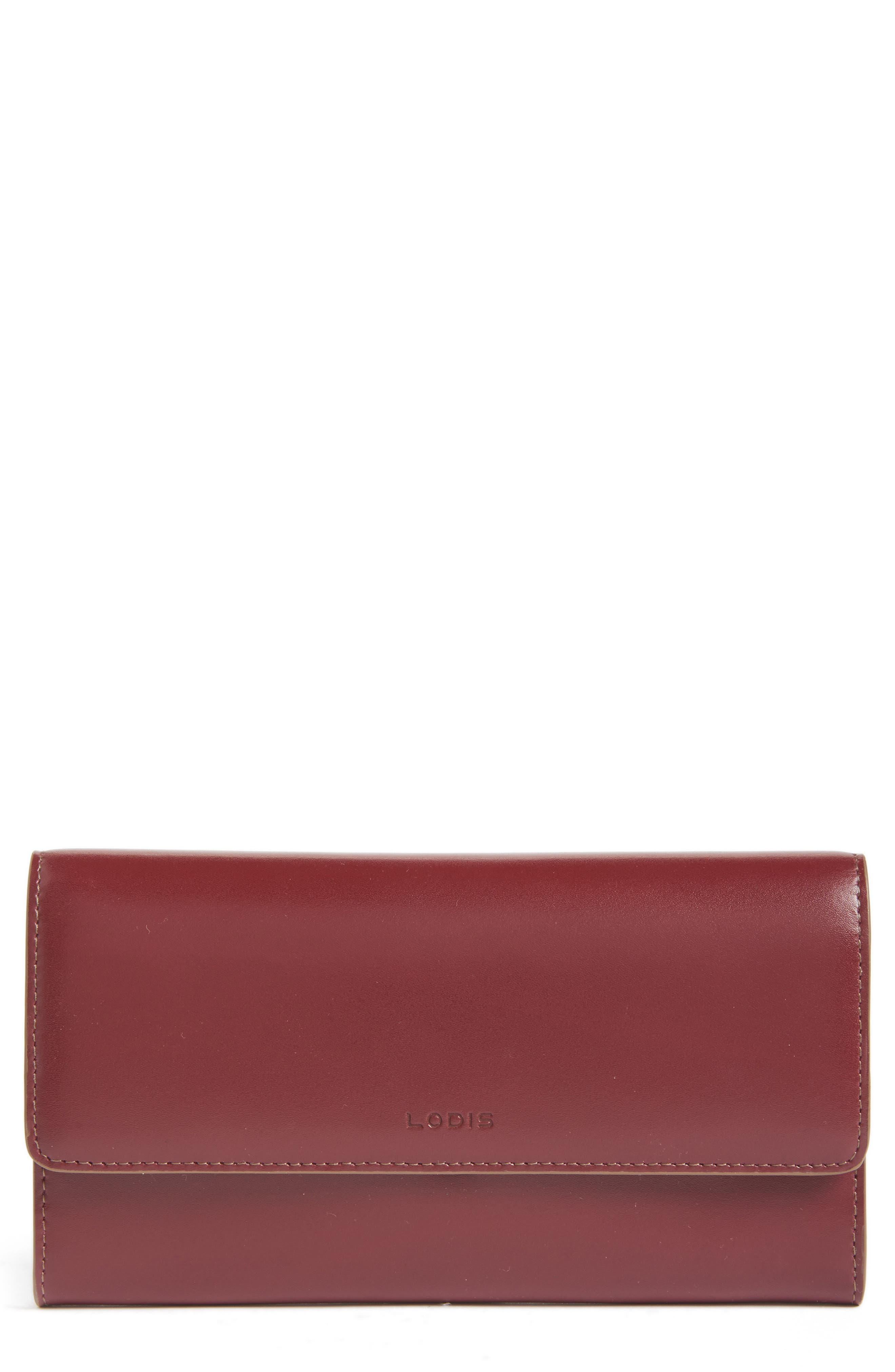 Alternate Image 1 Selected - Lodis Audrey - Cami RFID Leather Clutch Wallet