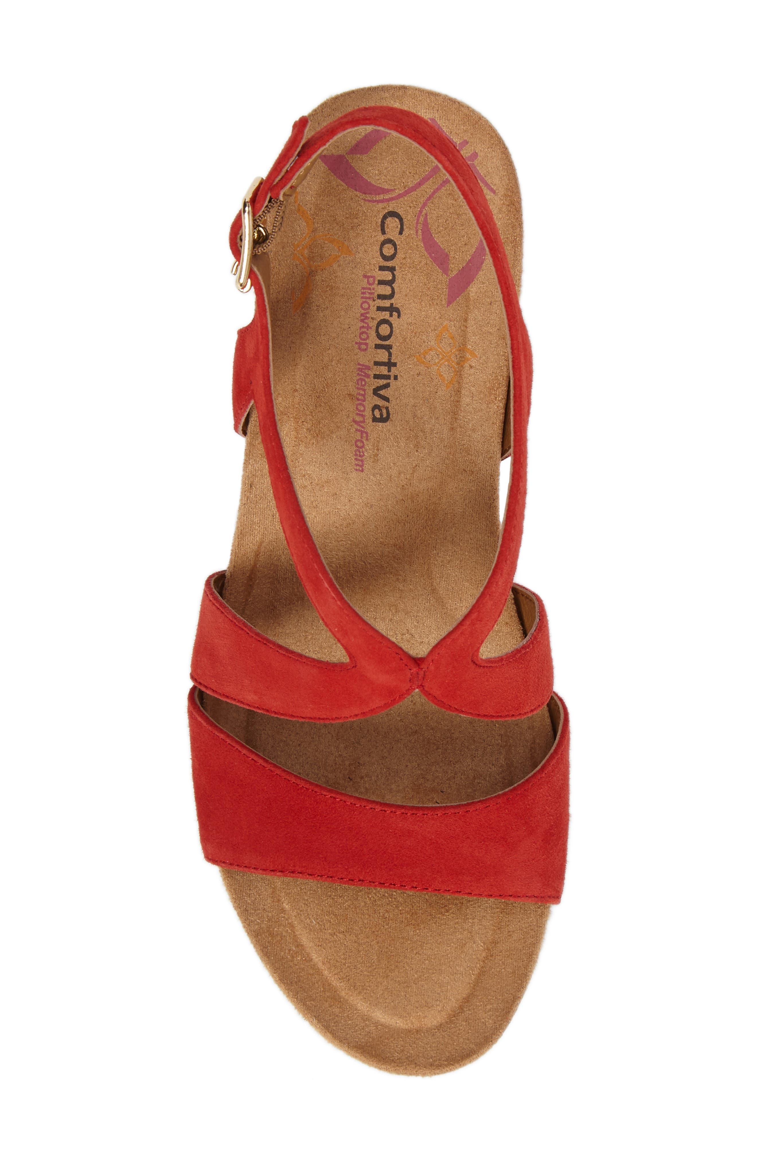 Alternate Image 4  - Comfortiva Vandy Sandal (Women)