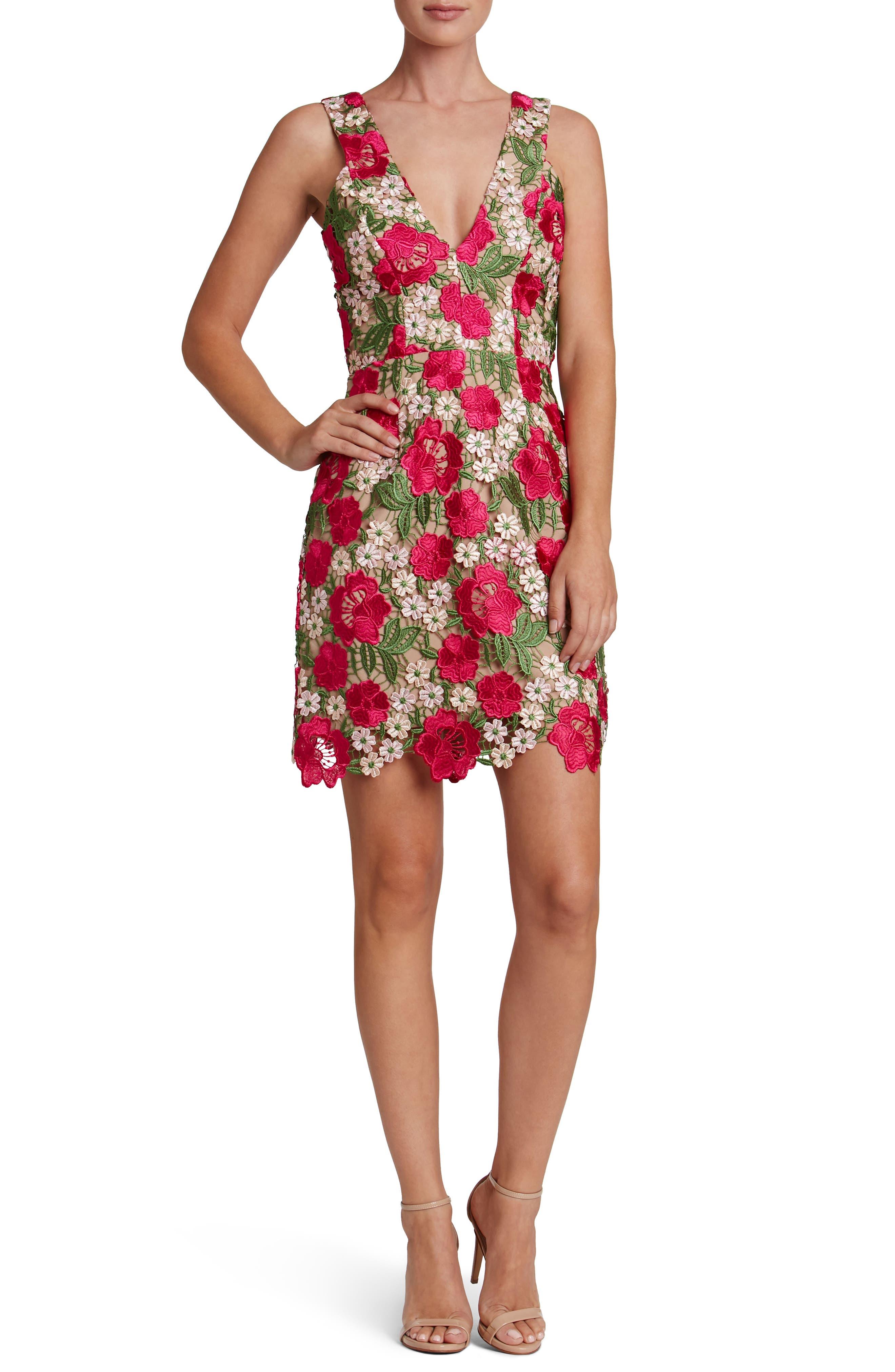 Alternate Image 1 Selected - Dress the Population Mina Minidress