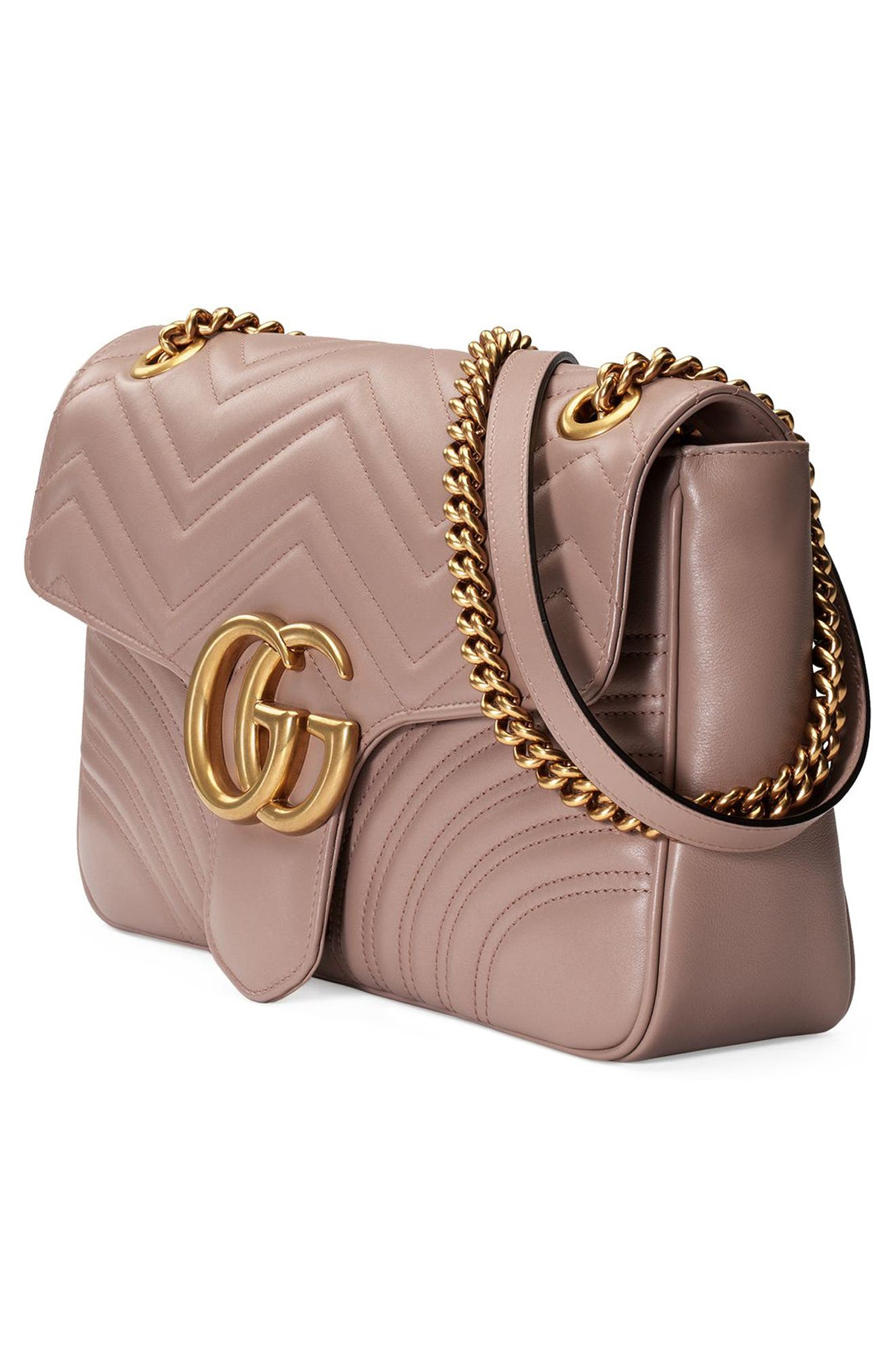 Alternate Image 4  - Gucci Medium GG Marmont 2.0 Matelassé Leather Shoulder Bag