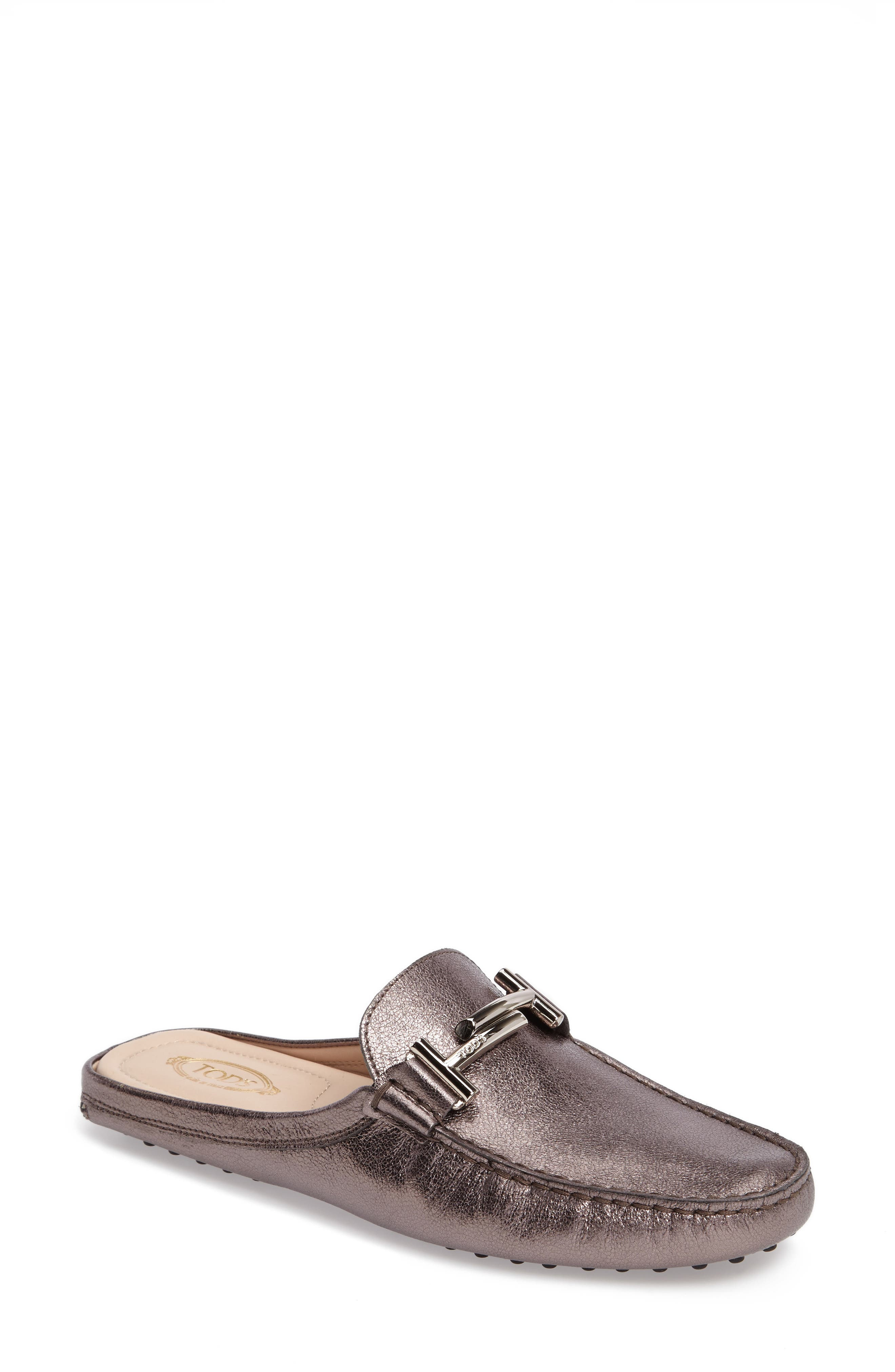 Alternate Image 1 Selected - Tod's Gommino Double-T Loafer Mule (Women)