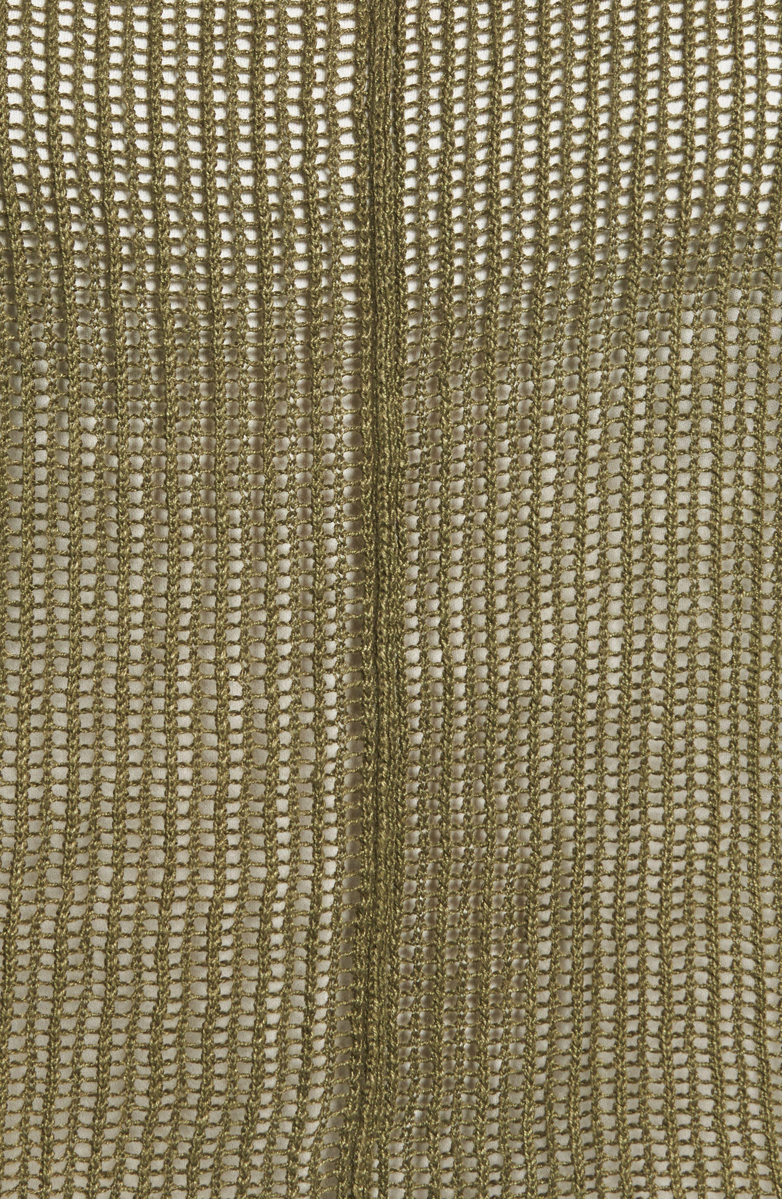 Alternate Image 5  - Eileen Fisher Organic Linen Crop Sweater (Regular & Petite)