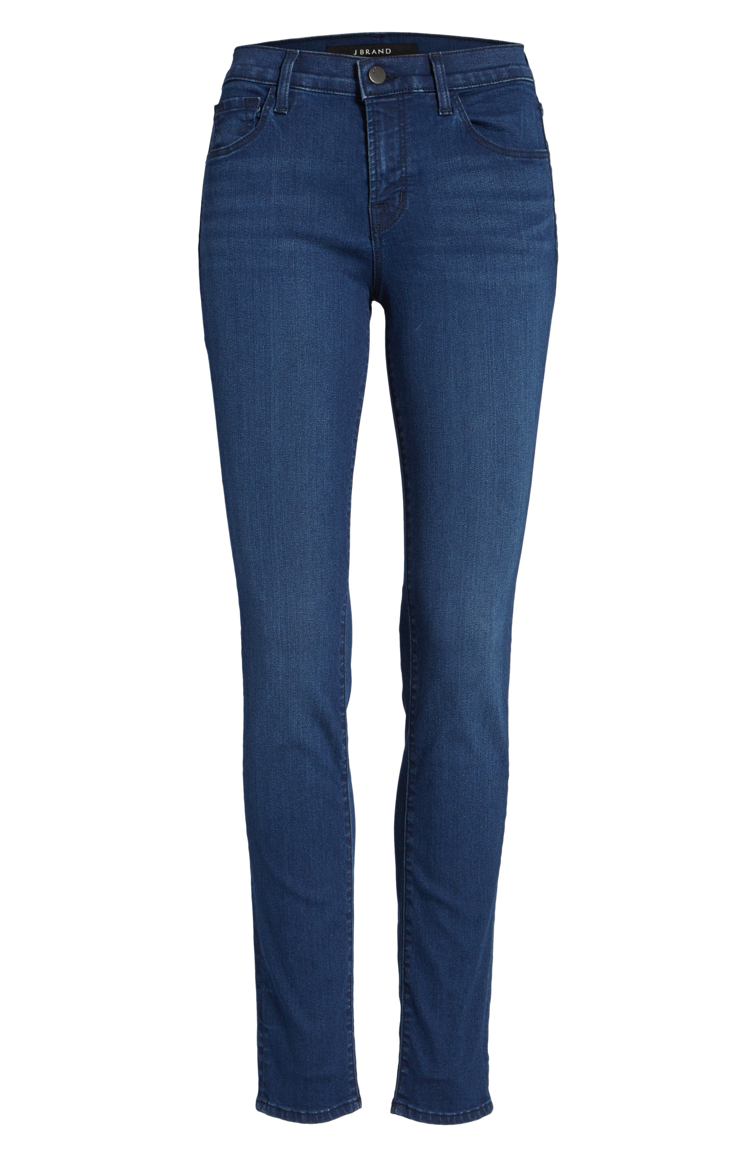 '811' Ankle Skinny Jeans,                             Alternate thumbnail 6, color,                             Sway