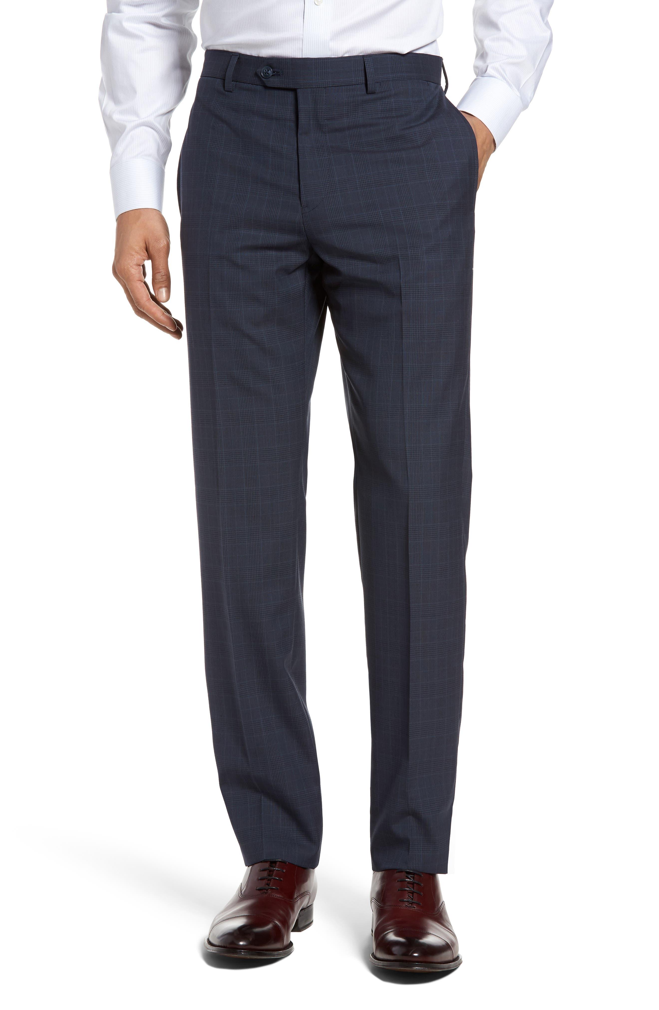 Alternate Image 4  - Michael Bastian Classic Fit Plaid Wool Suit