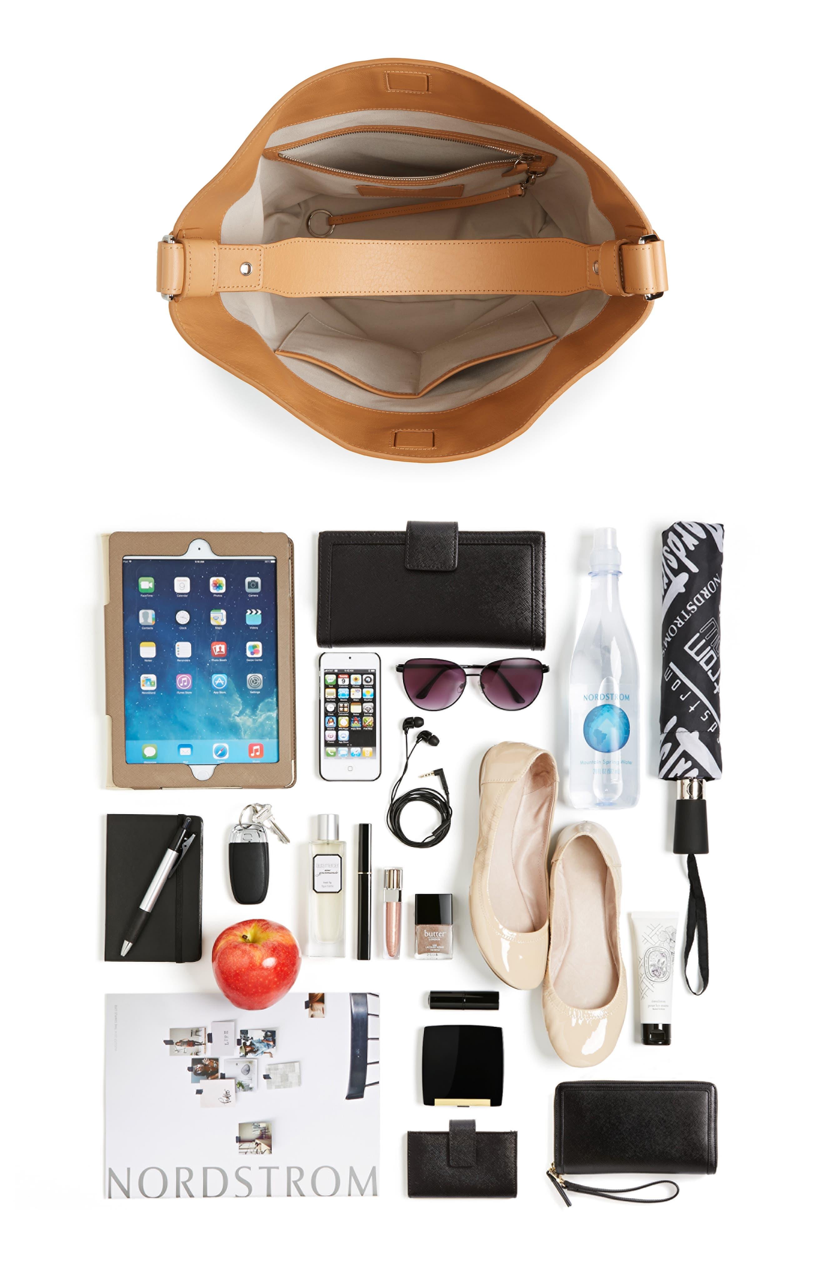 Alternate Image 5  - Shinola Relaxed Leather Hobo Bag