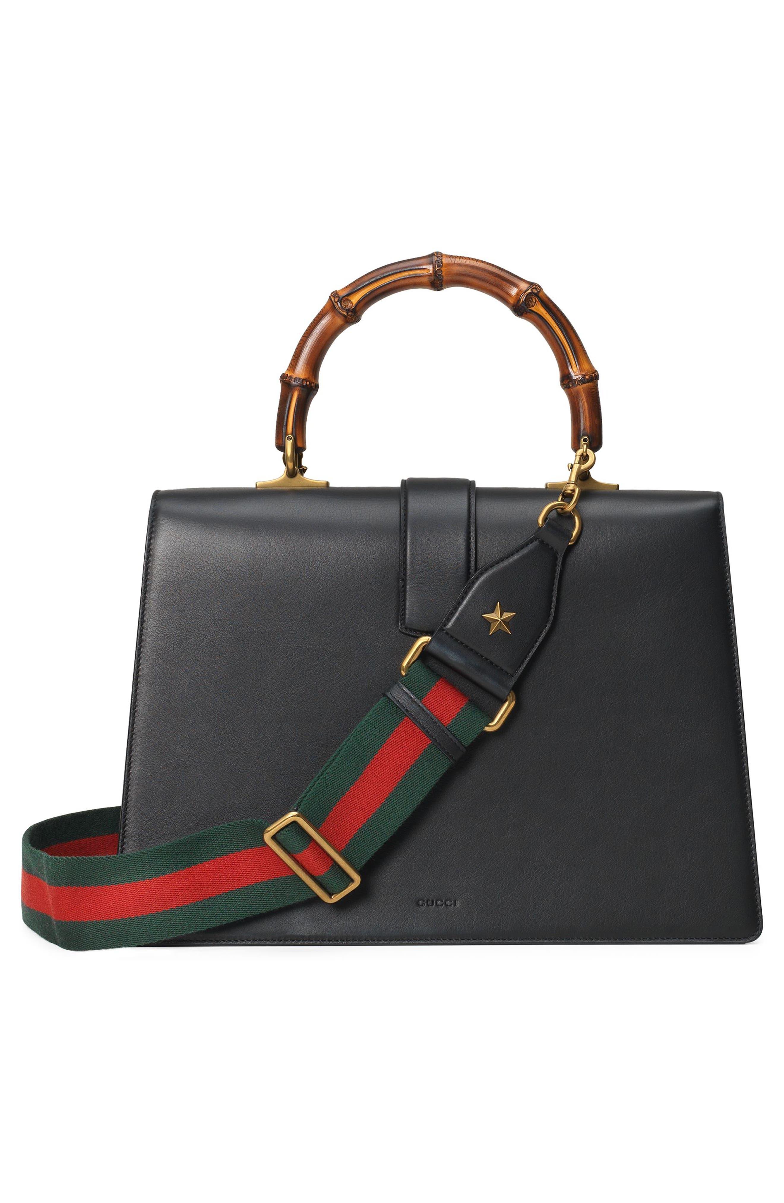 Alternate Image 2  - Gucci Large Dionysus Top Handle Leather Shoulder Bag