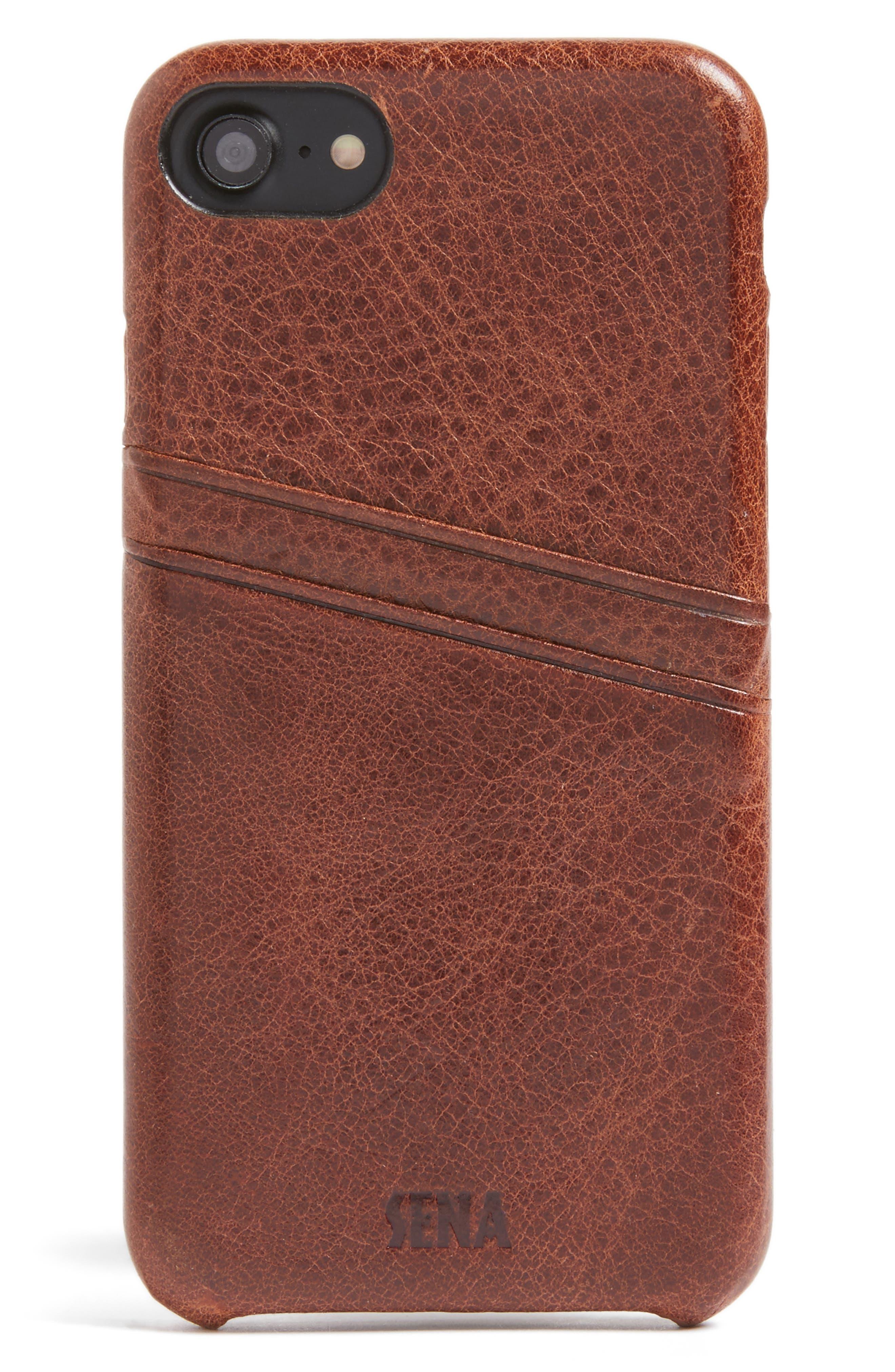 Sena iPhone 7/8 Snap-On Wallet Case