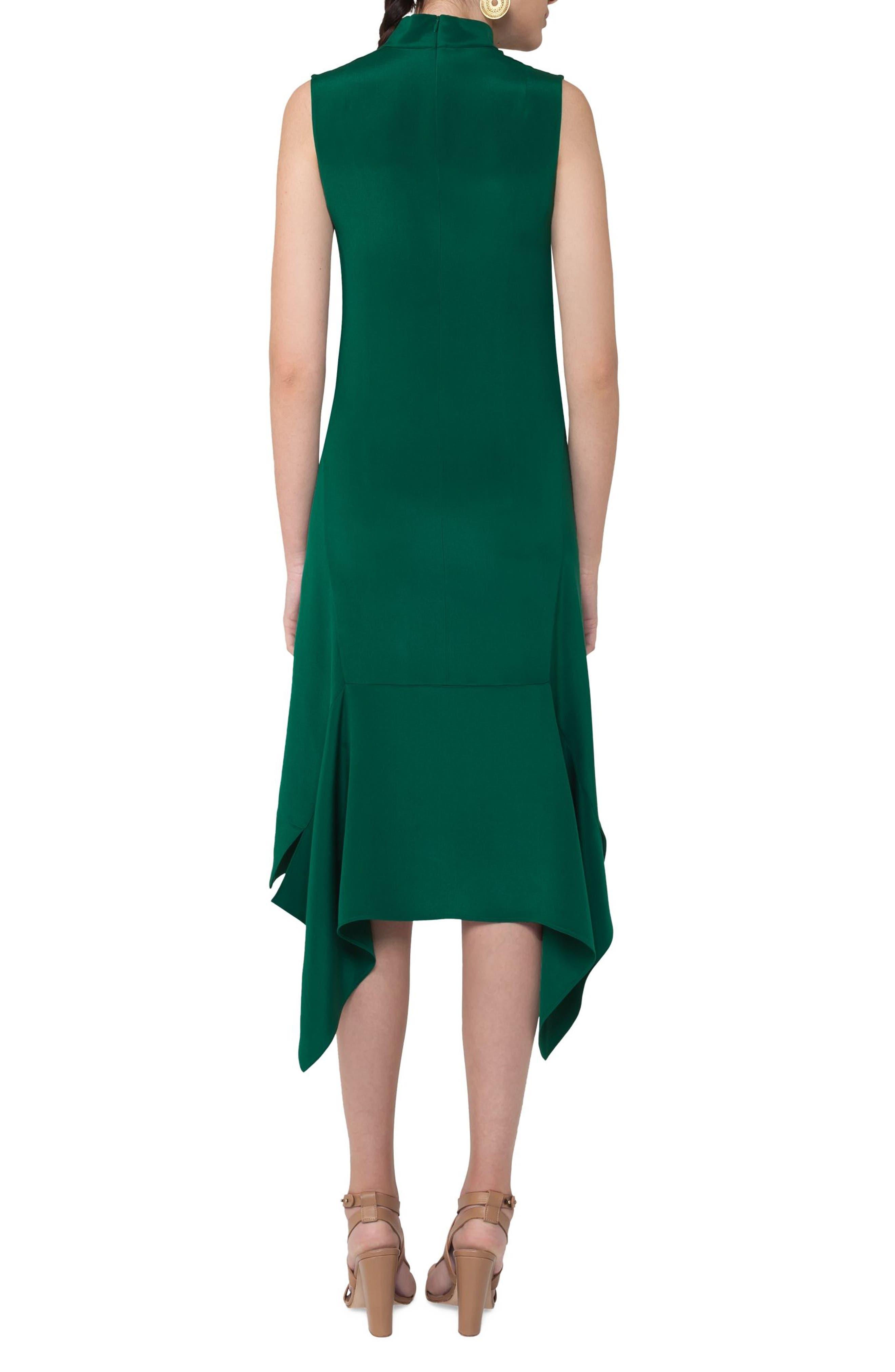 Alternate Image 2  - Akris punto Handkerchief Hem Dress