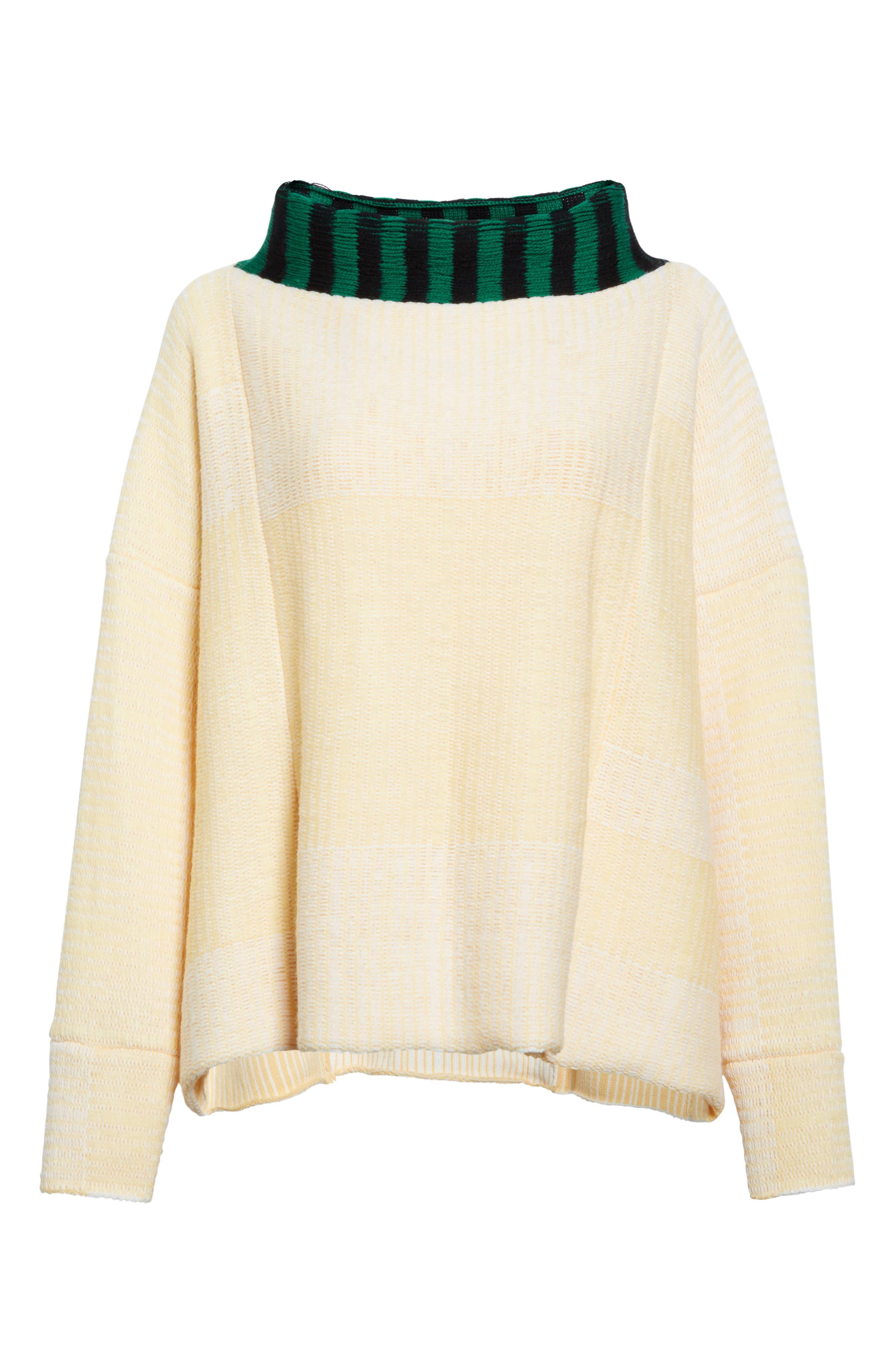 Vented Dolman Sweater,                             Alternate thumbnail 4, color,                             Chamois