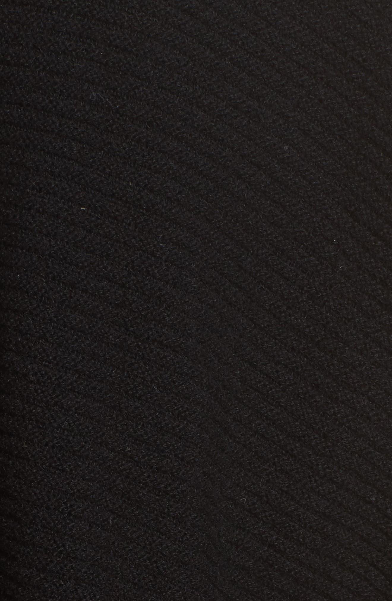 Cashmere Wrap,                             Alternate thumbnail 3, color,                             Black