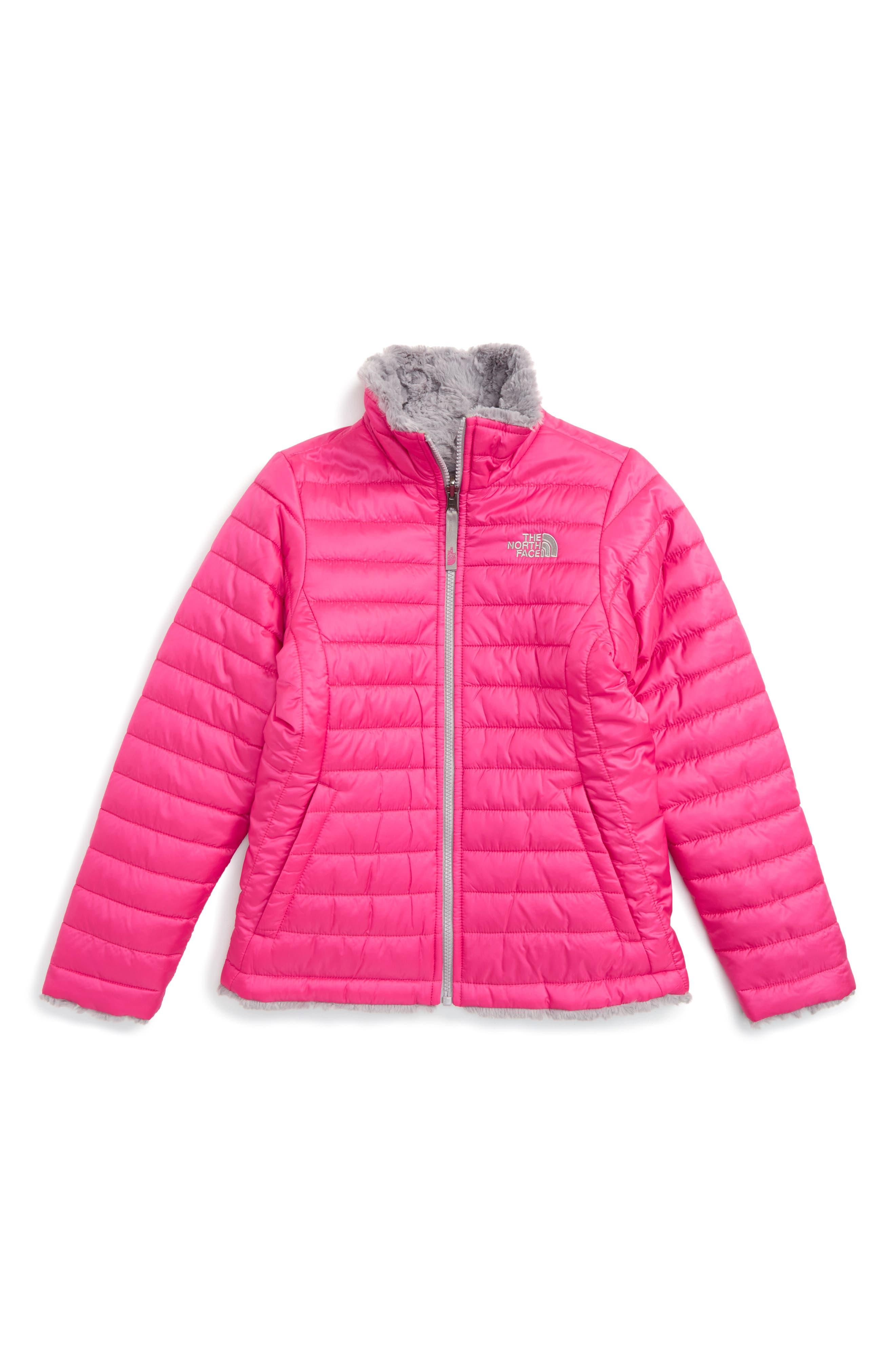 The North Face Mossbud Reversible Heatseeker™ Wind Resistant Jacket (Little Girls & Big Girls)