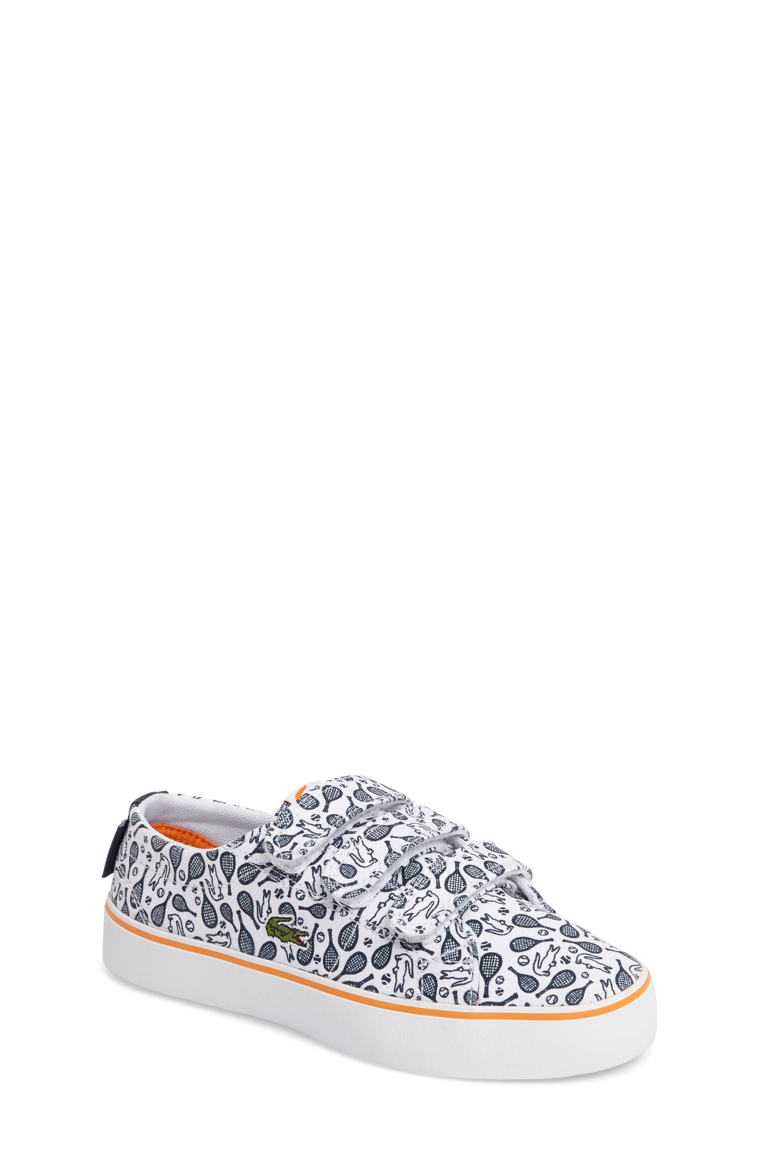 Main Image - Lacoste Marcel Chunky Tennis Racket Sneaker (Baby, Walker, Toddler & Little Kid)