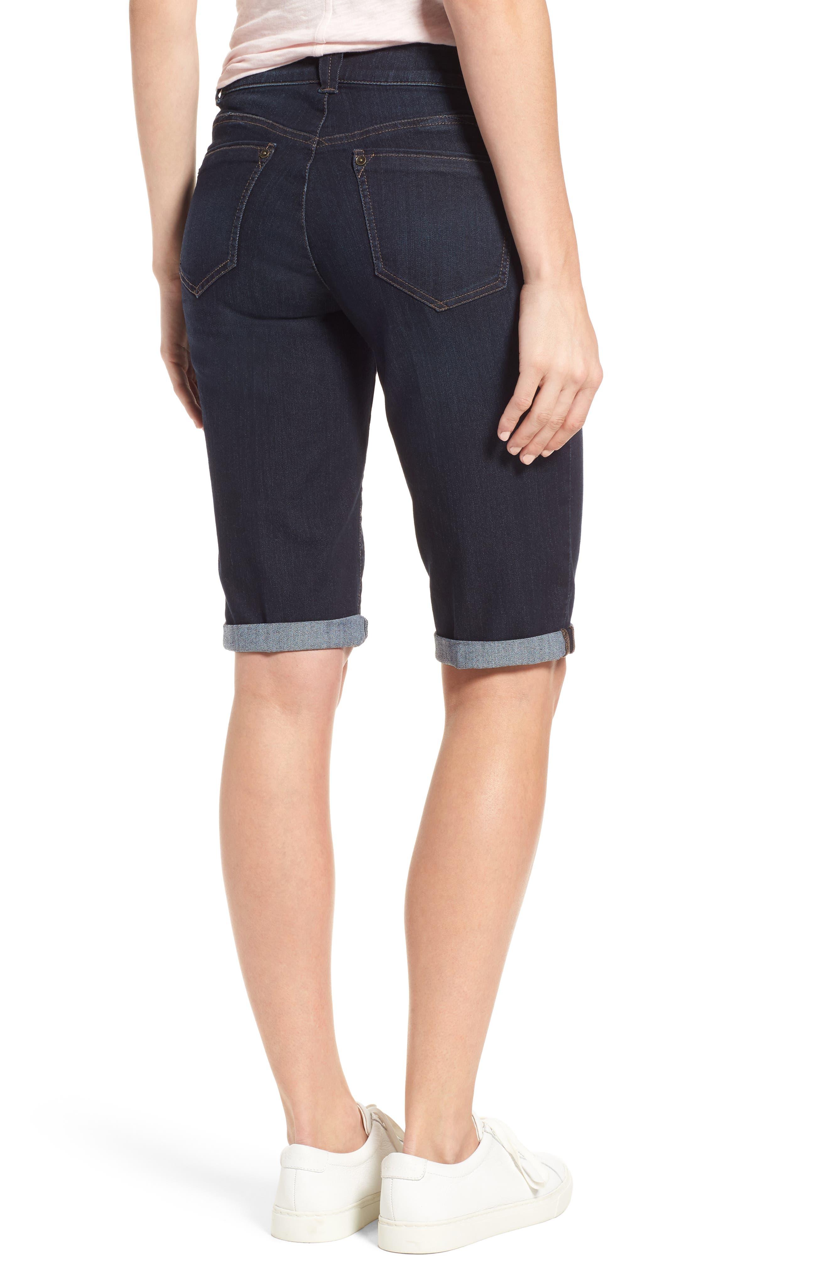 Alternate Image 2  - Wit & Wisdom Ab-solution Denim Bermuda Shorts (Regular & Petite) (Nordstrom Exclusive)