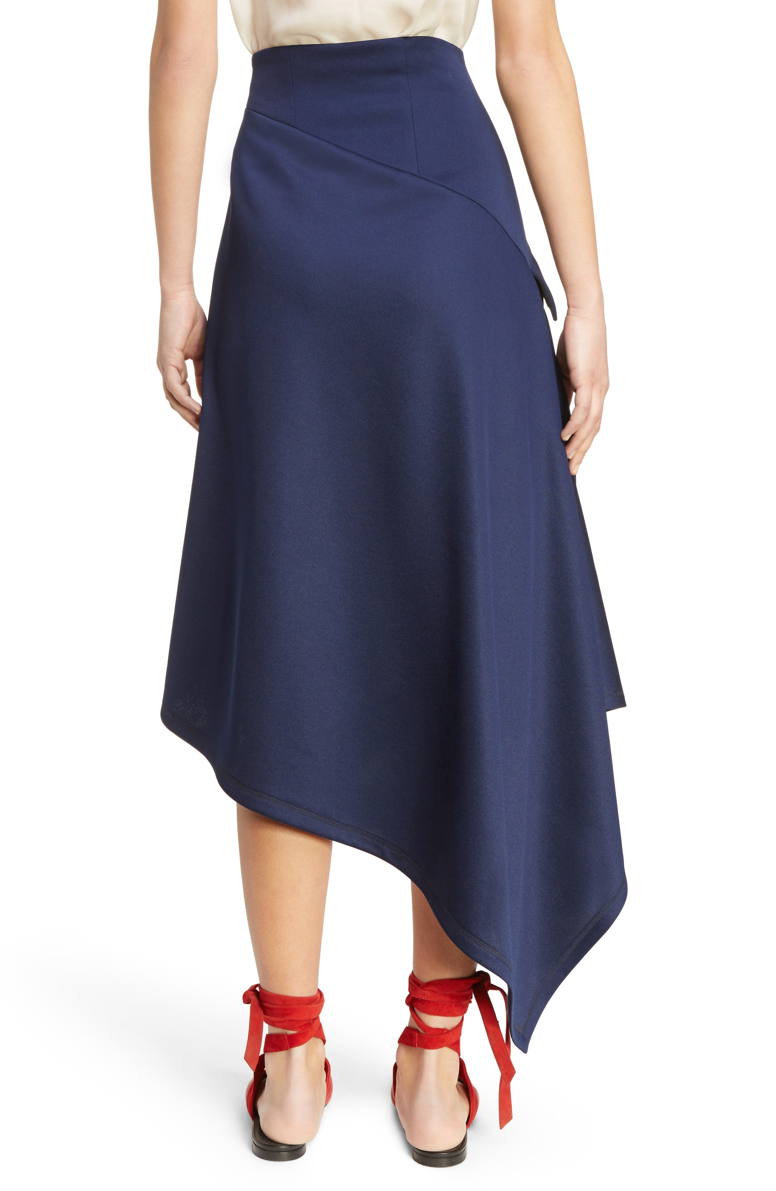 Alternate Image 2  - J.W.ANDERSON Side Button Asymmetrical Skirt