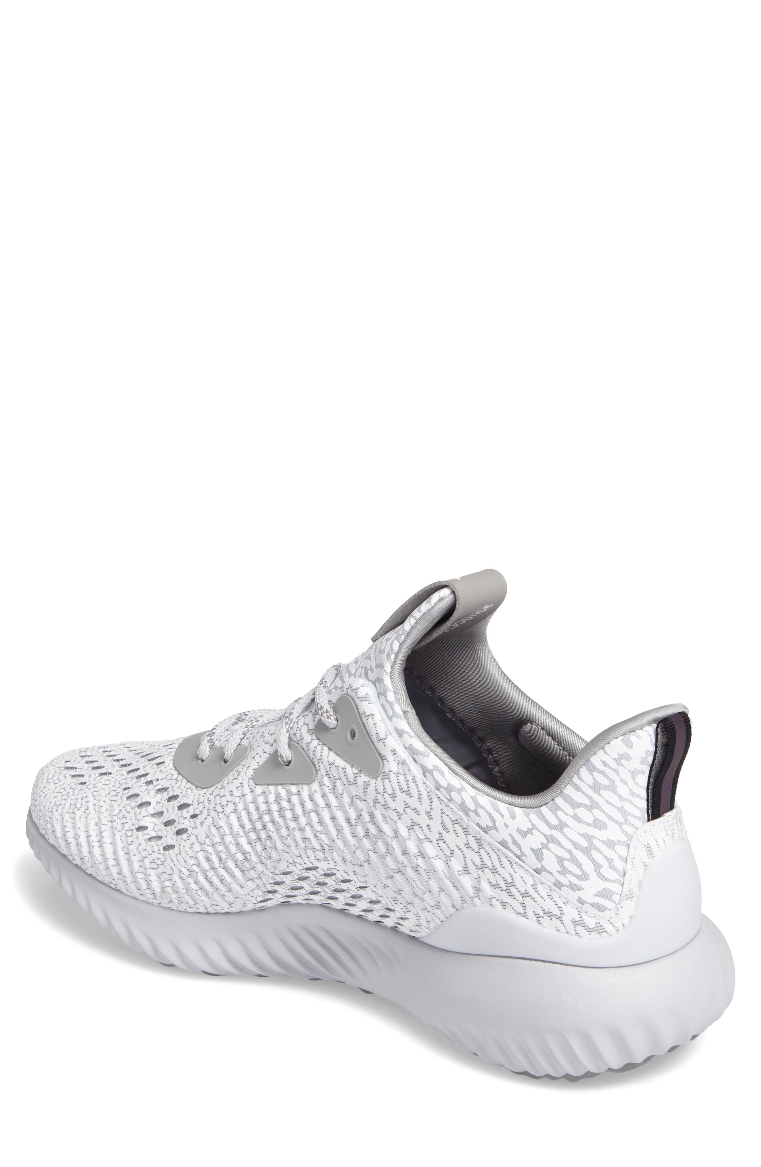 AlphaBounce Aramis Sneaker,                             Alternate thumbnail 2, color,                             Clear Grey/Core Black