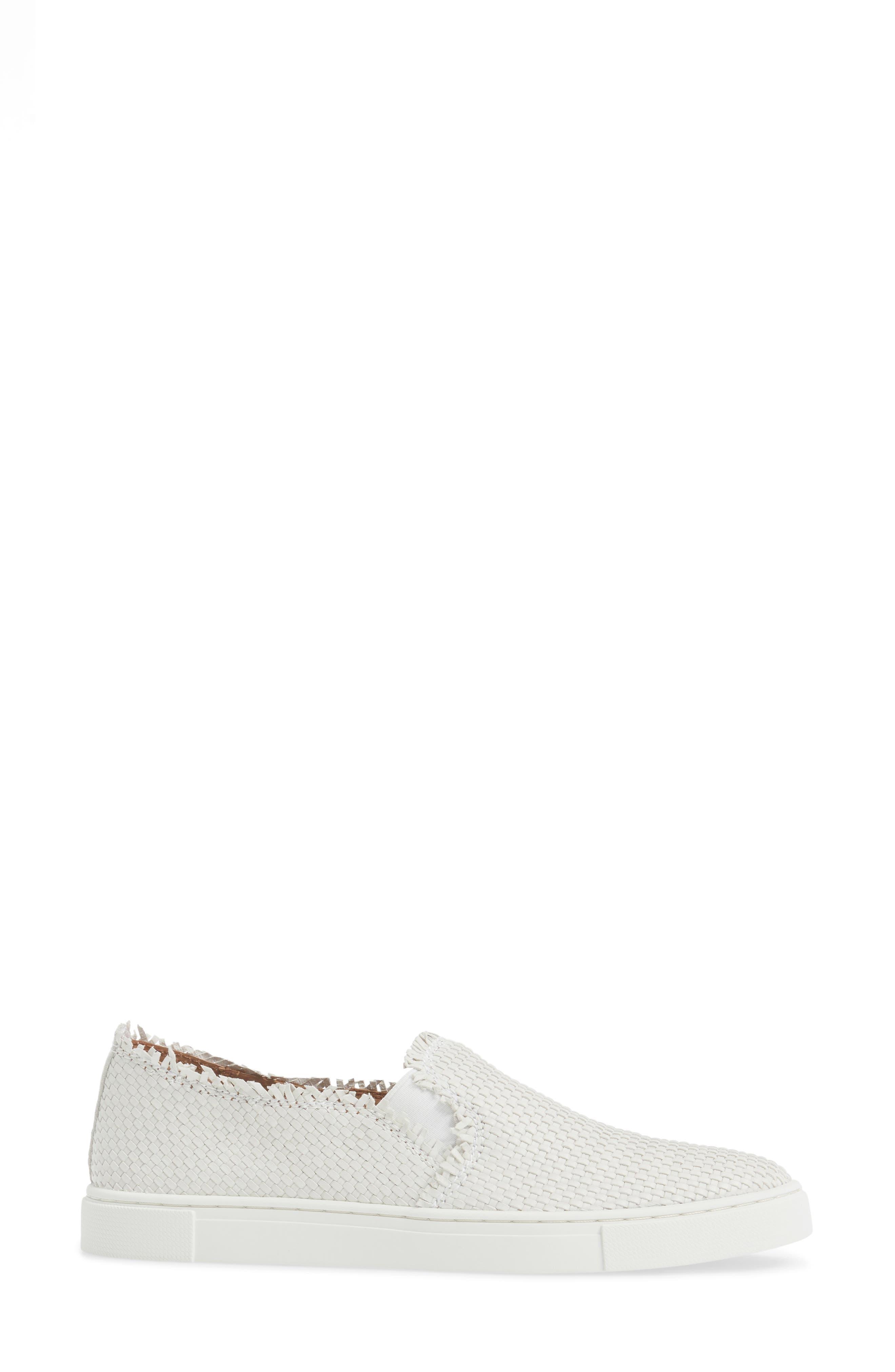 Alternate Image 3  - Frye Ivy Fray Woven Slip-On Sneaker (Women)