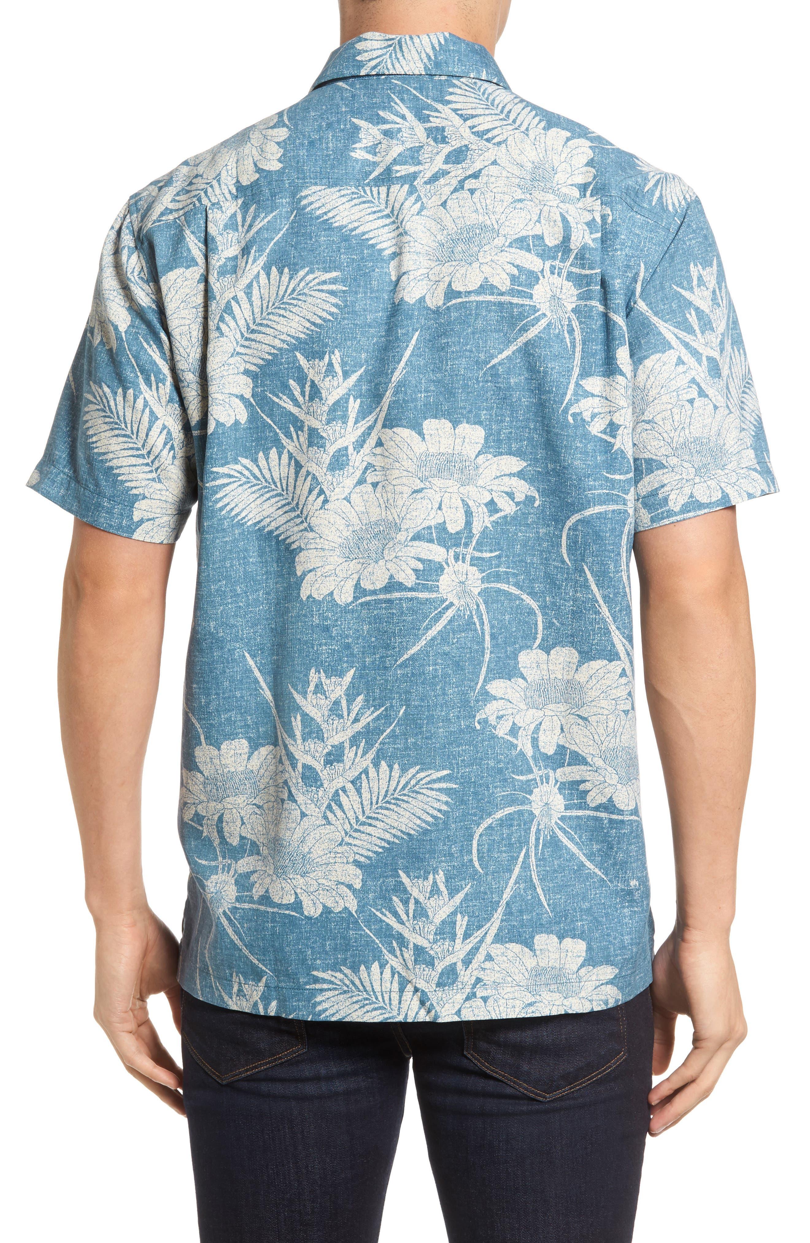Alternate Image 2  - Tommy Bahama Sand Torini Blooms Standard Fit Silk Blend Camp Shirt