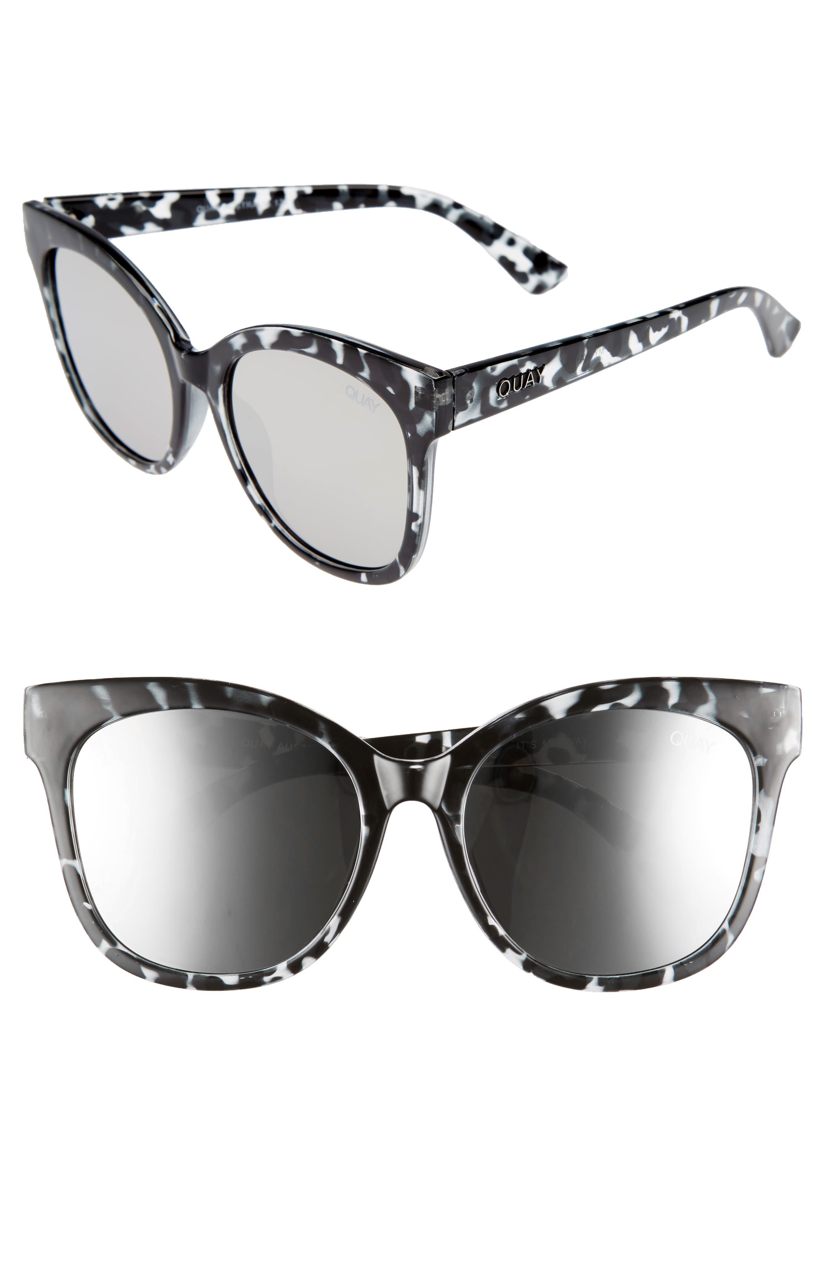 QUAY AUSTRALIA Its My Way 55mm Sunglasses