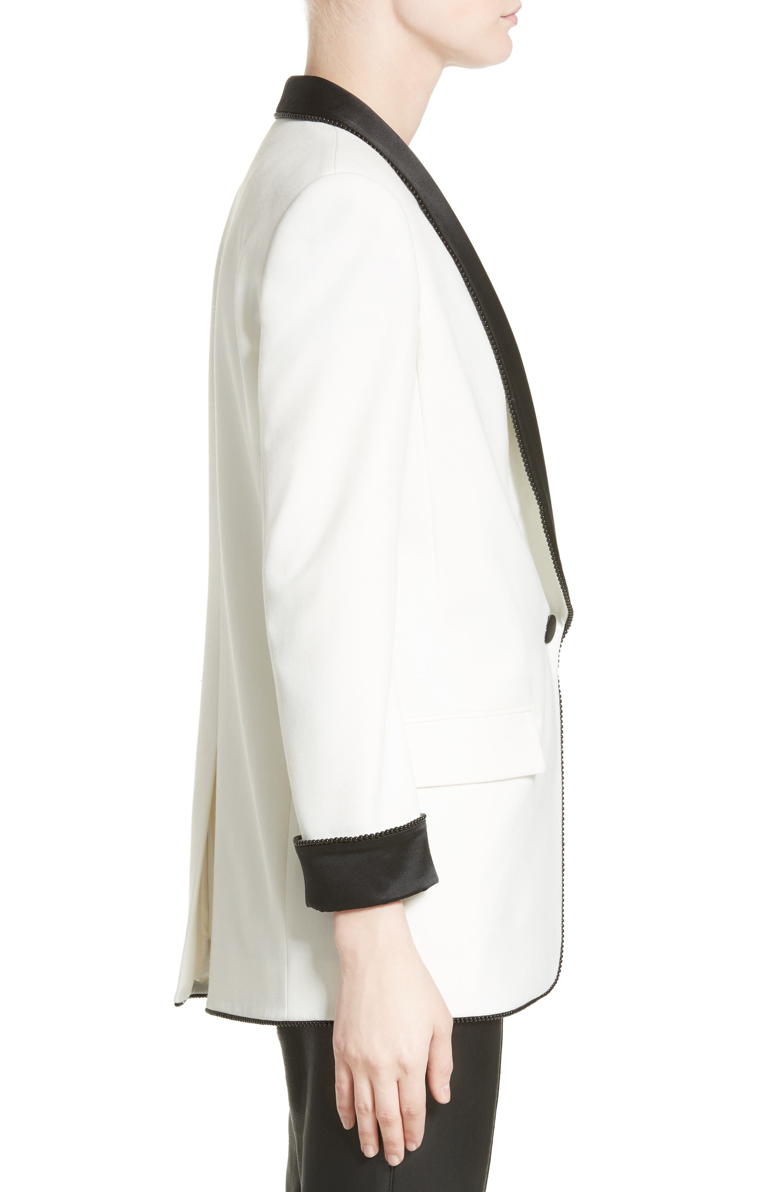 Alternate Image 5  - Alexander Wang Chain Trim Tuxedo Blazer