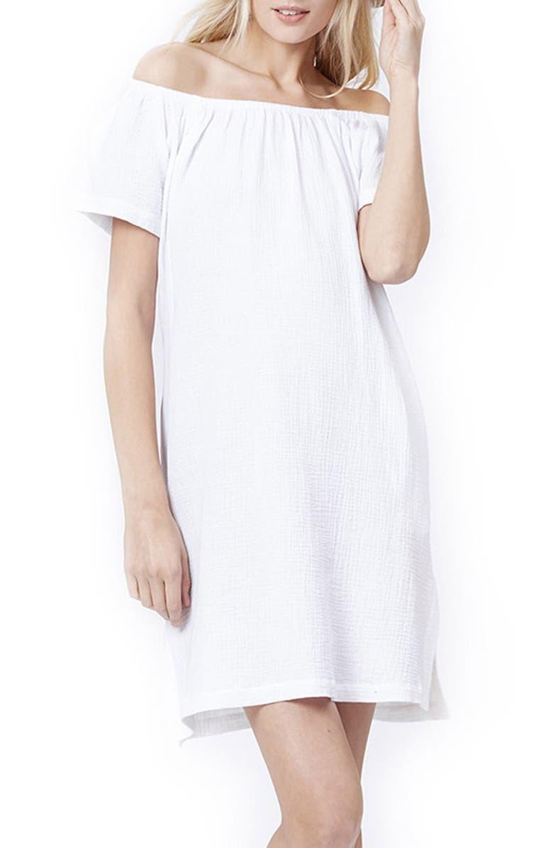 Ariel Off The Shoulder Maternity/Nursing Dress