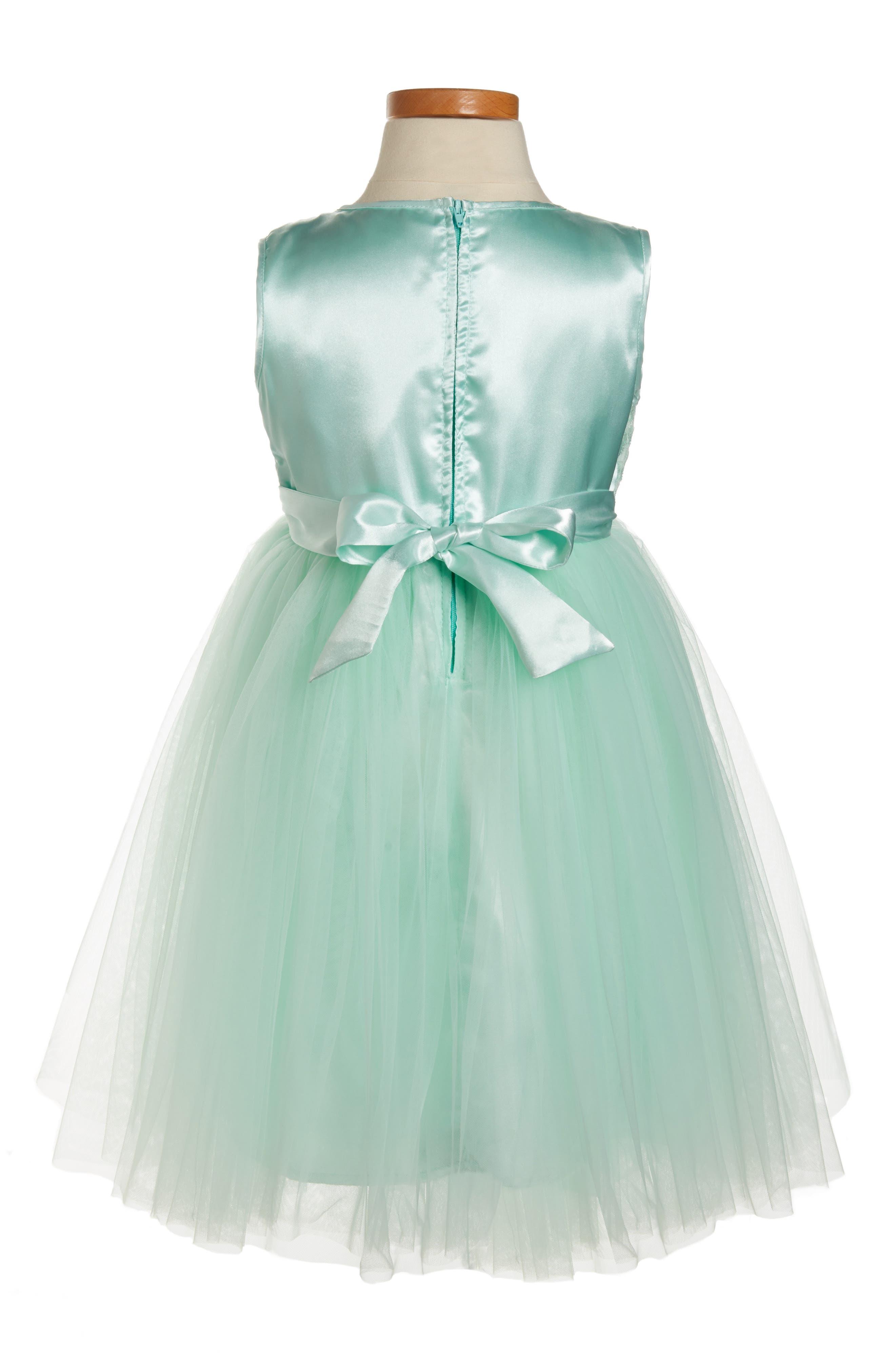 Alternate Image 2  - Popatu Princess Sleeveless Dress (Toddler Girls, Little Girls & Big Girls)