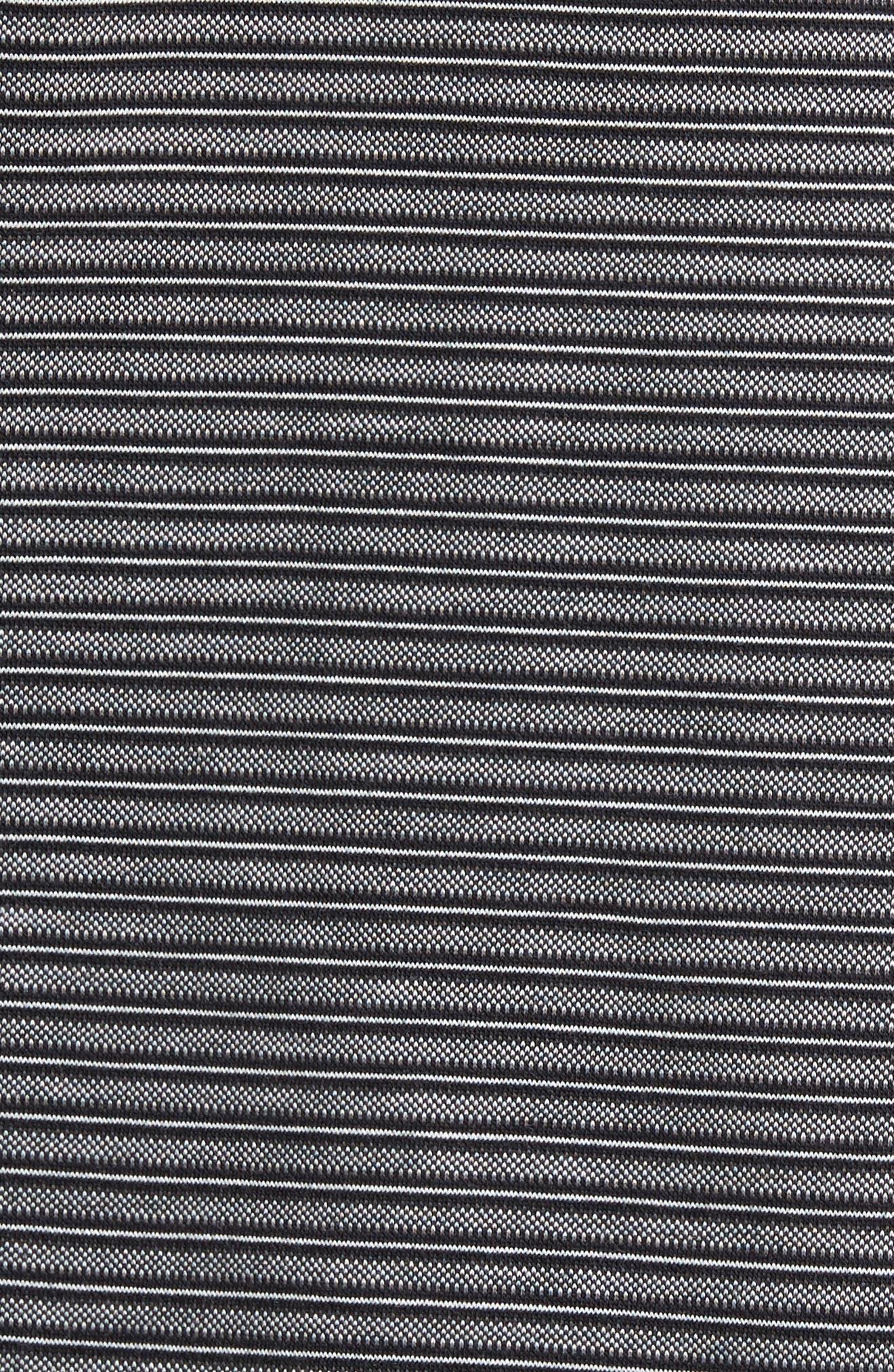 Alternate Image 5  - Nordstrom Men's Shop Regular Fit Performance Stripe Polo