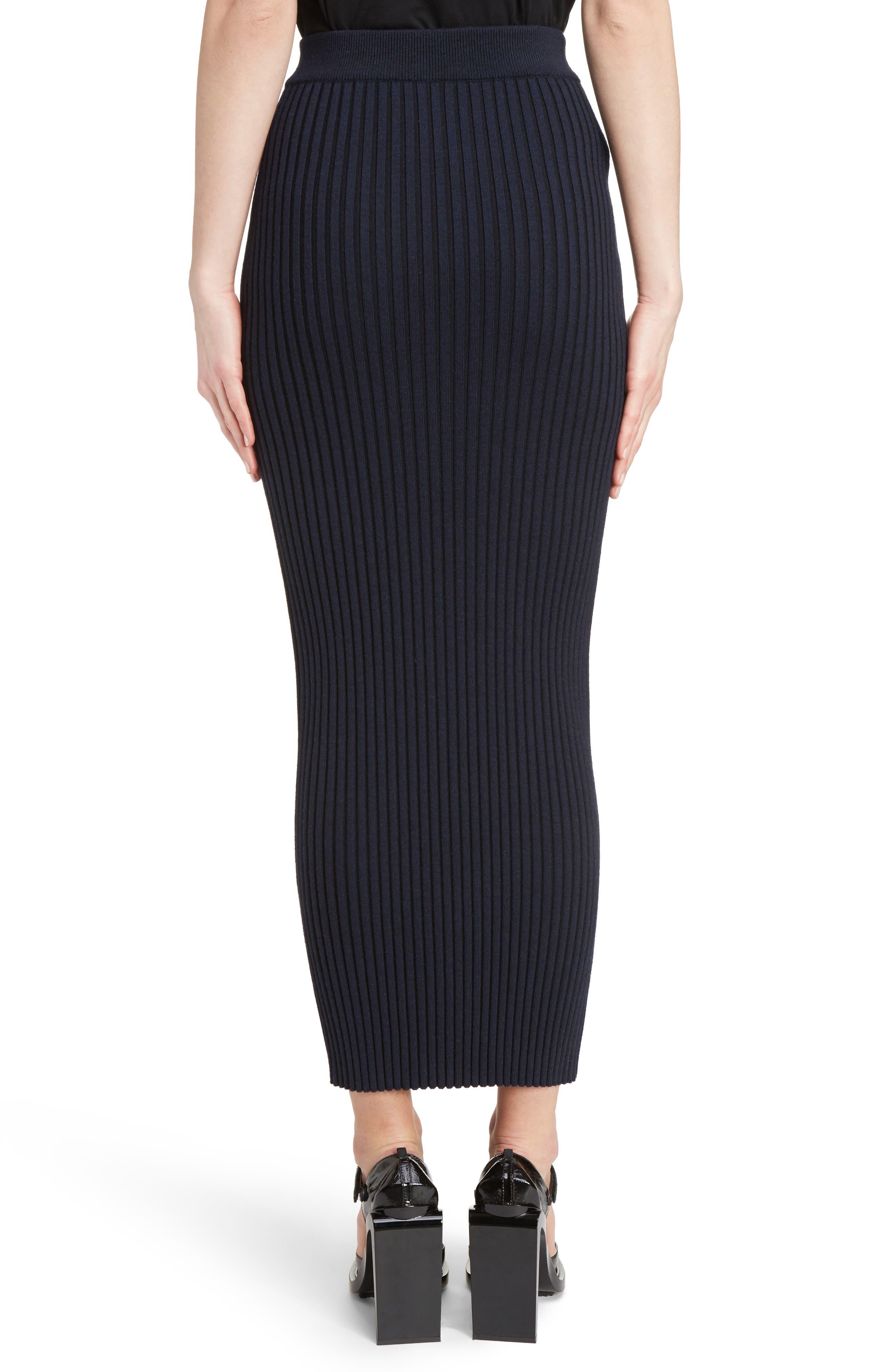 Alternate Image 3  - KENZO Body-Con Maxi Skirt