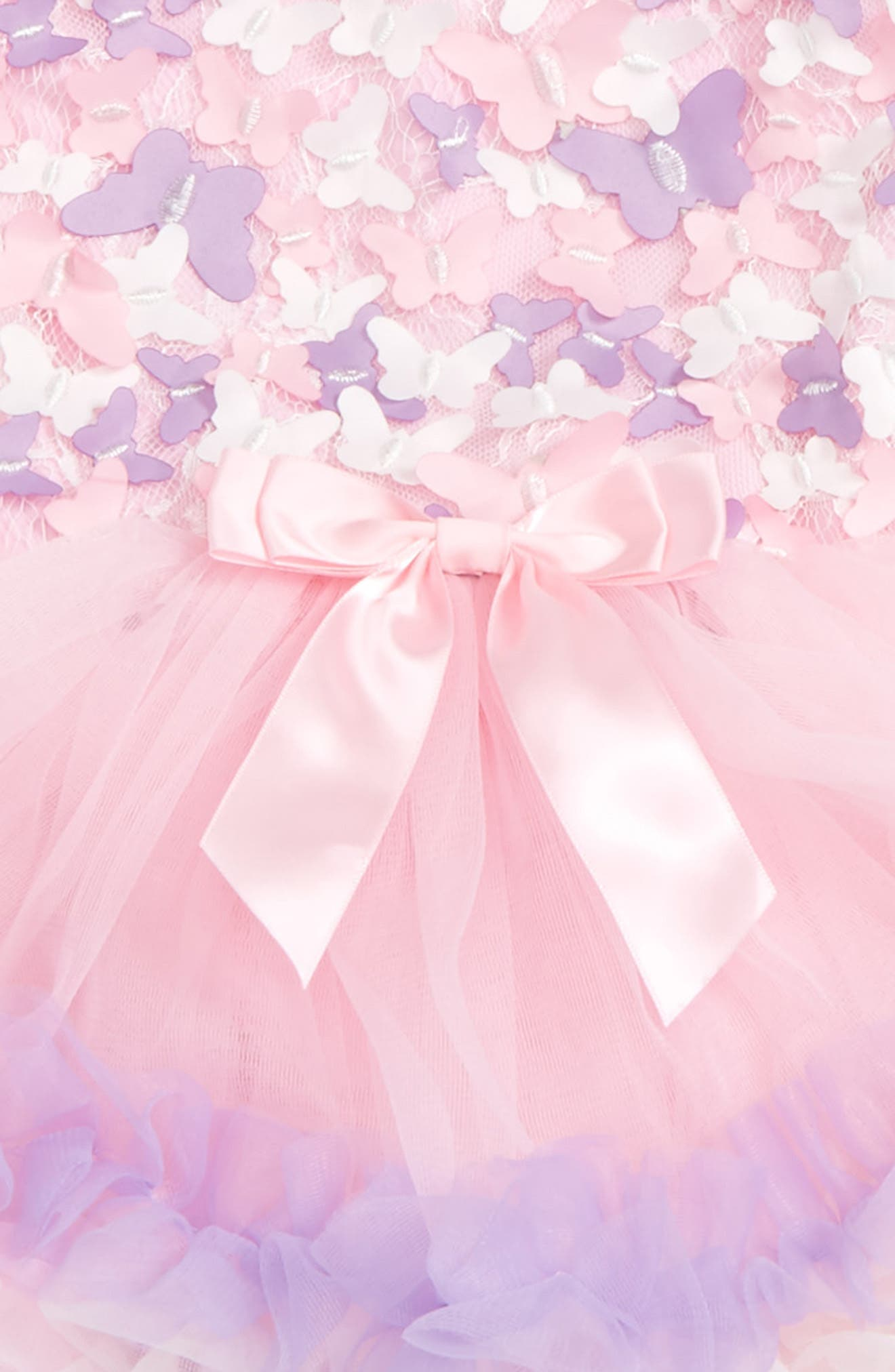 Butterfly Tutu Dress,                             Alternate thumbnail 2, color,                             Pink/ Purple