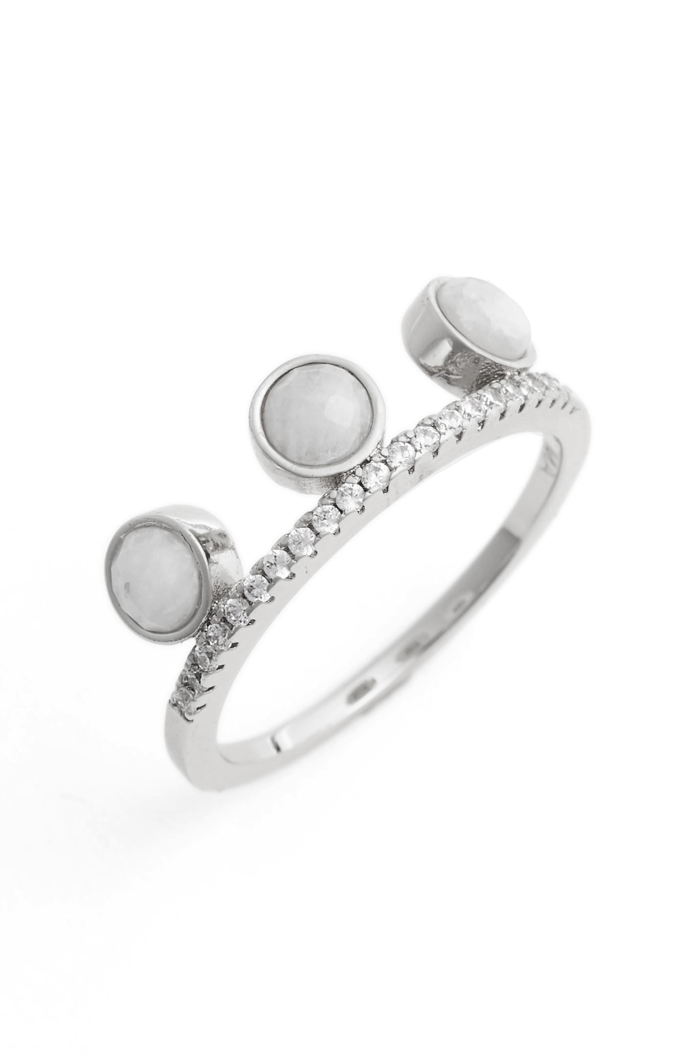 Alternate Image 1 Selected - Melanie Auld Circle Stacking Ring