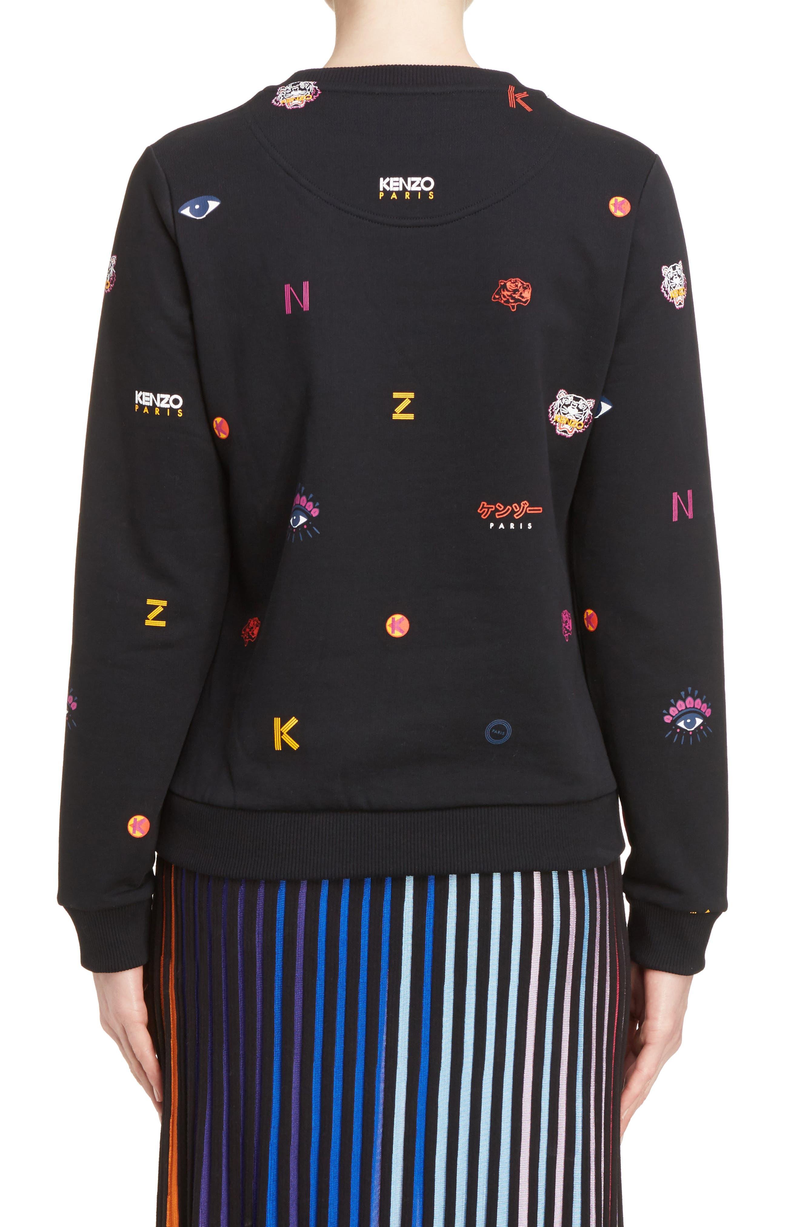 Alternate Image 3  - KENZO Multi Icons Sweatshirt