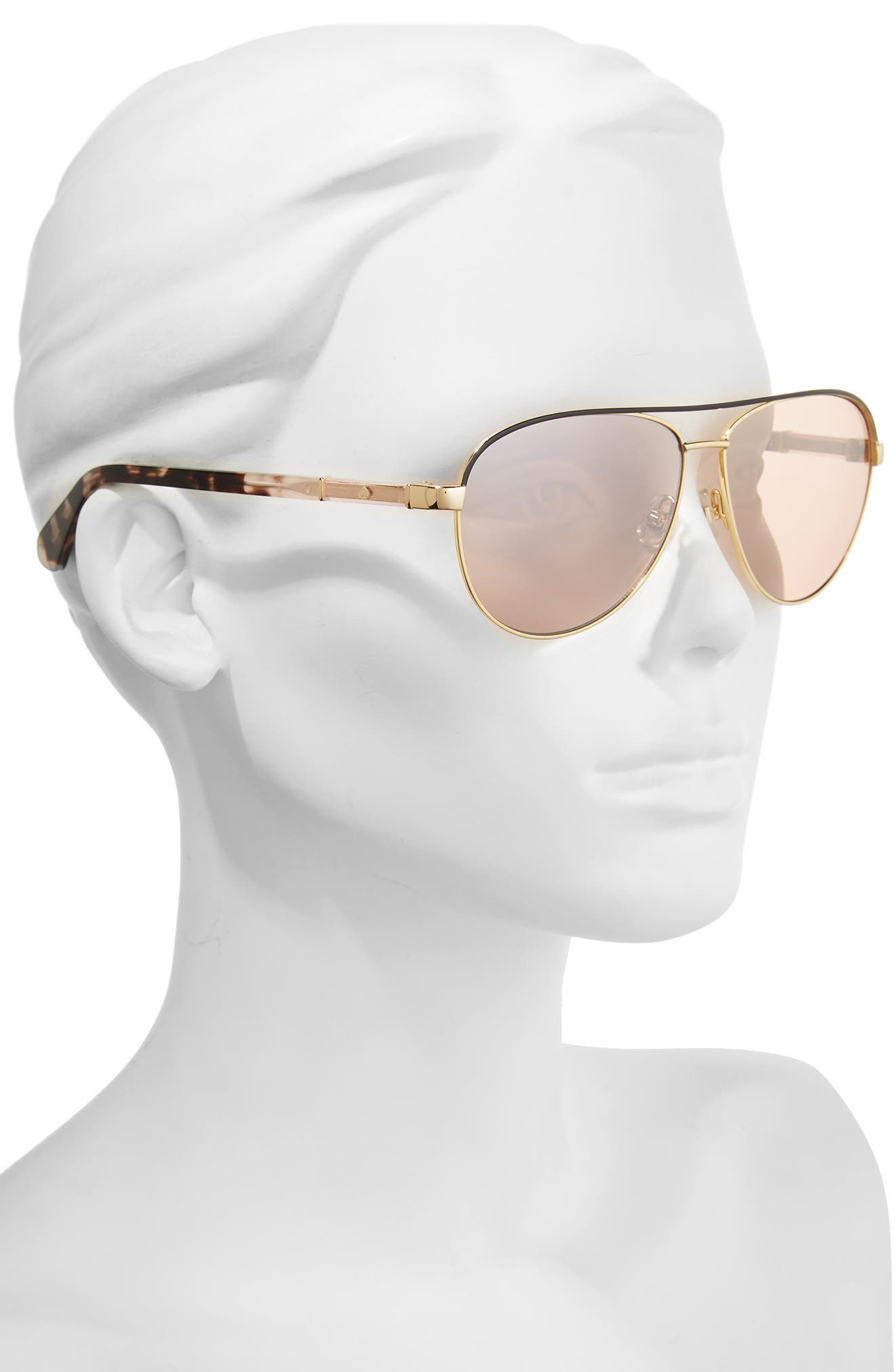 Alternate Image 2  - kate spade new york emilyann 59mm aviator sunglasses