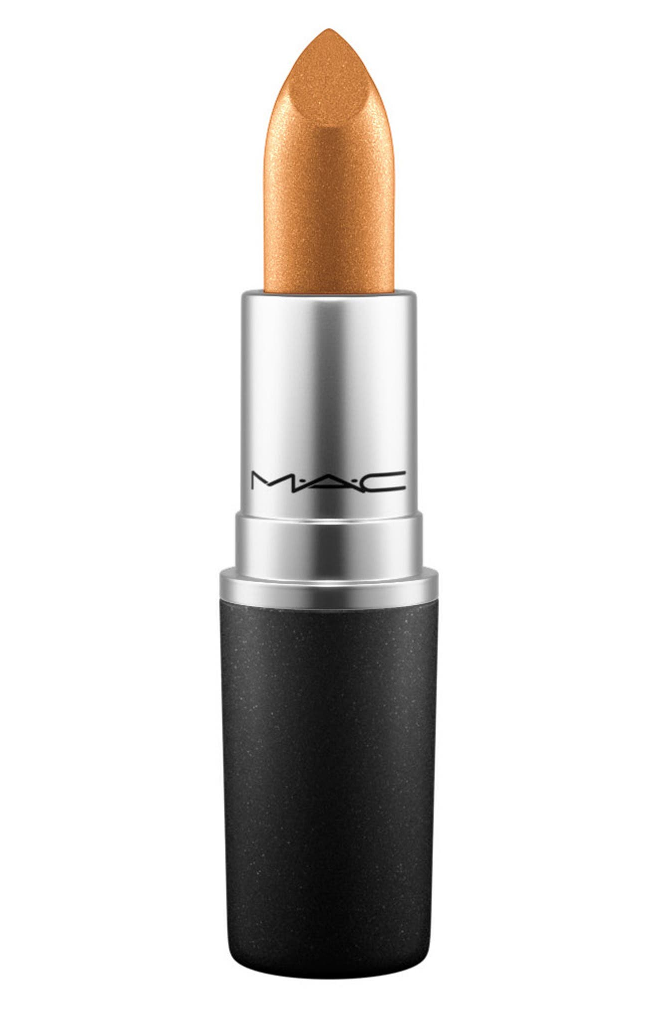 MAC Trend Lipstick,                             Main thumbnail 1, color,                             Bronze Shimmer (F)