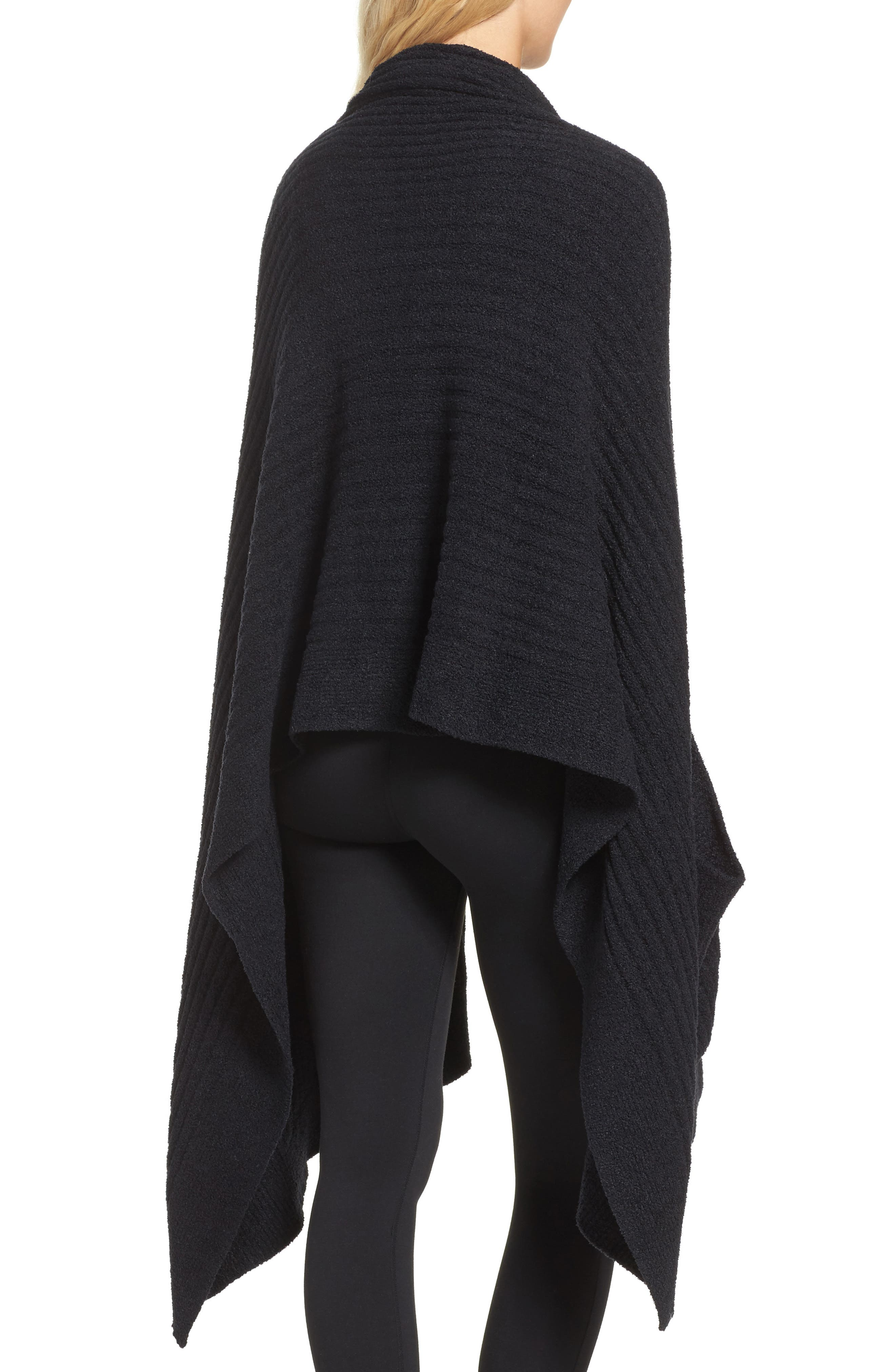 Cozychic Lite<sup>®</sup> Travel Shawl,                             Alternate thumbnail 2, color,                             Midnight